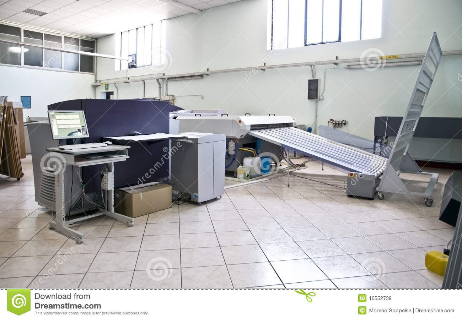 процесс печатания плиты ctp компьютера к