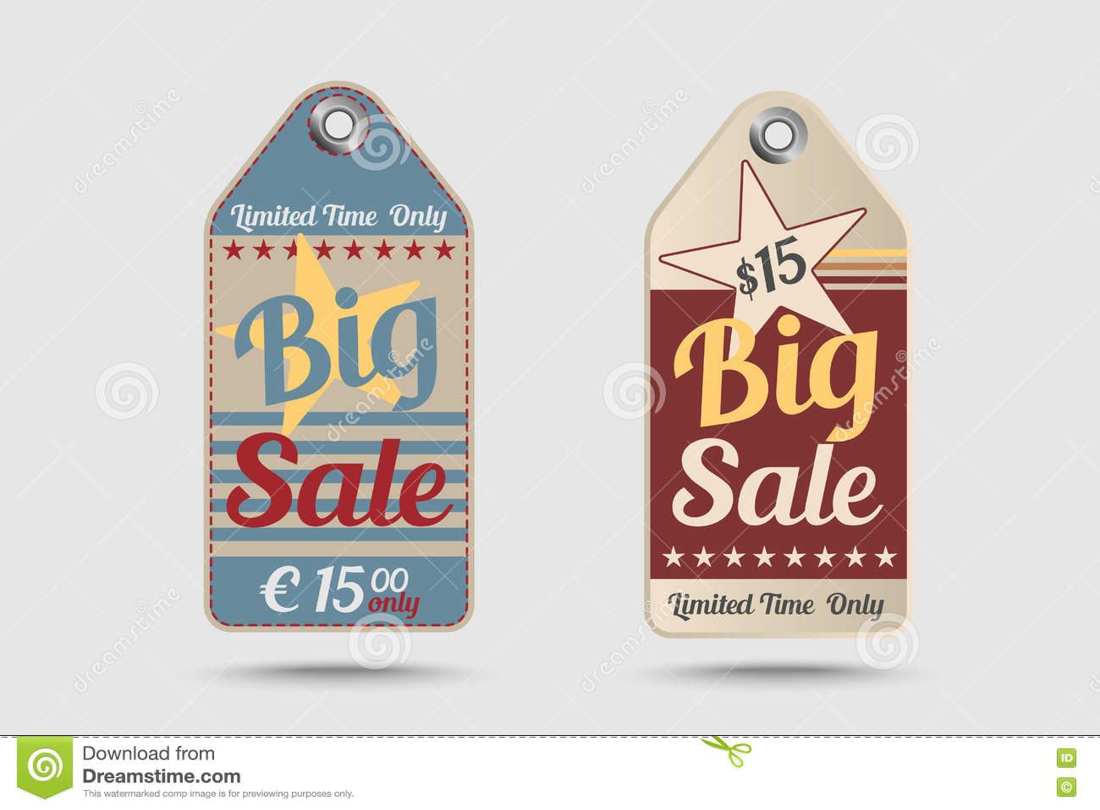 Download Продажа винтажной бирки продажи стиля большая Иллюстрация штока - иллюстрации насчитывающей предмет, hang: 72281398