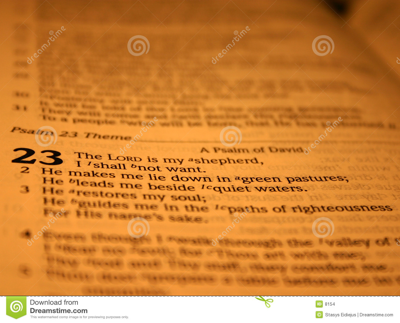 псалем 23 ii