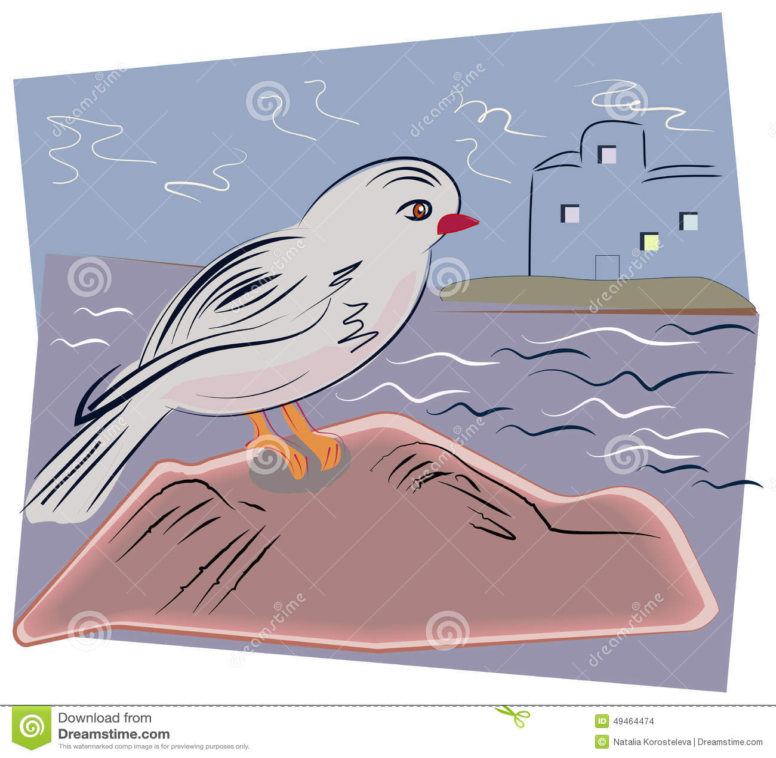 Птица моря