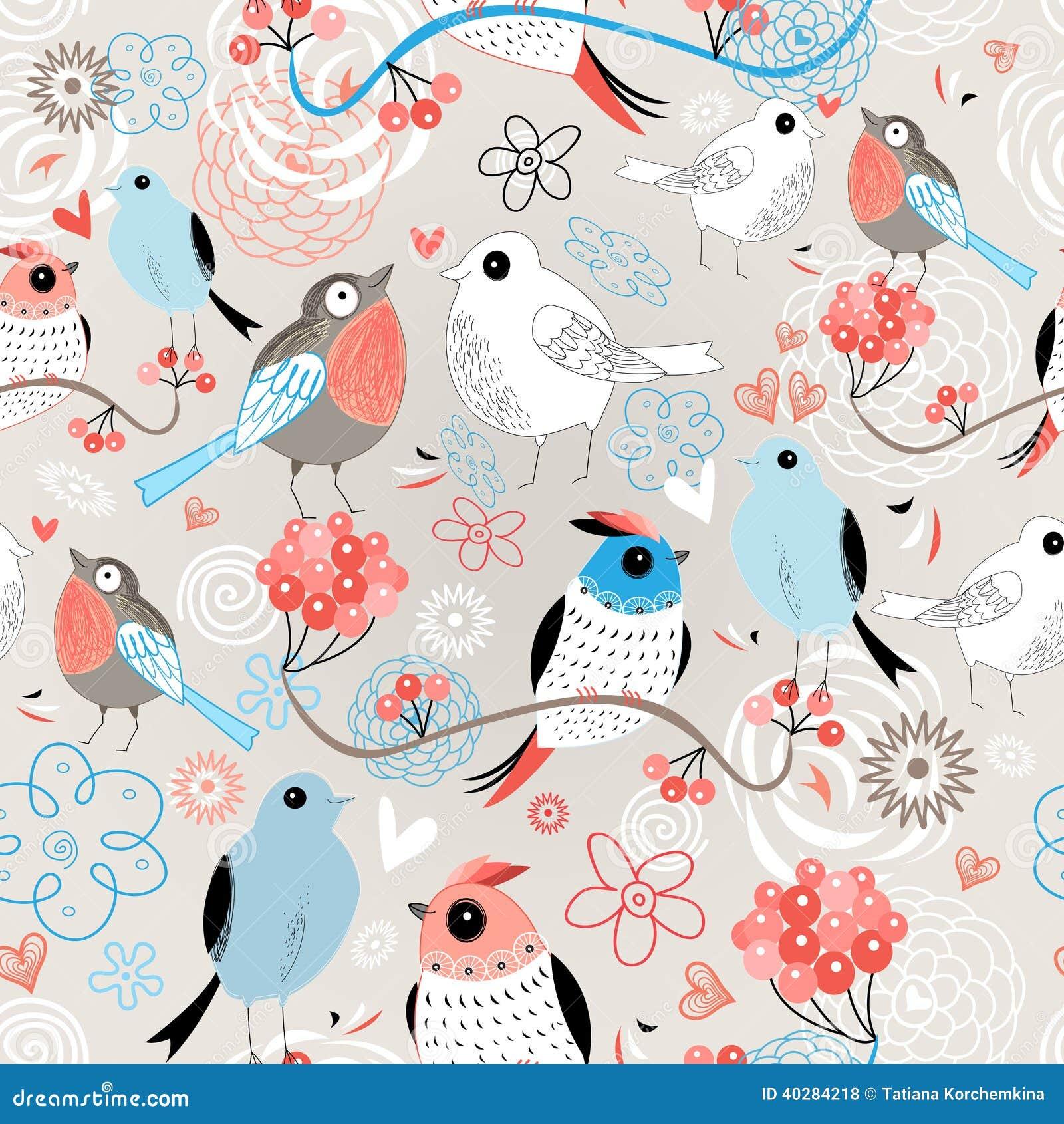 Птицы влюбленности картины