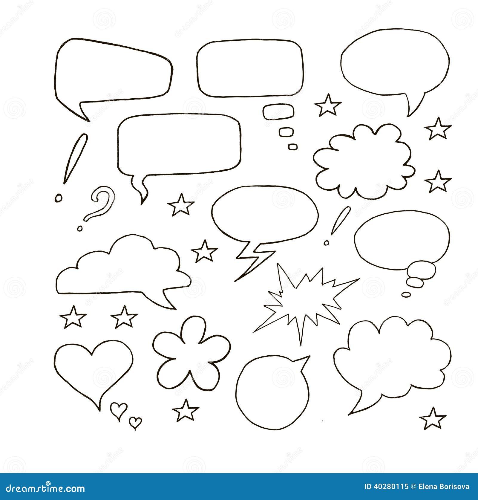 Пузыри речи