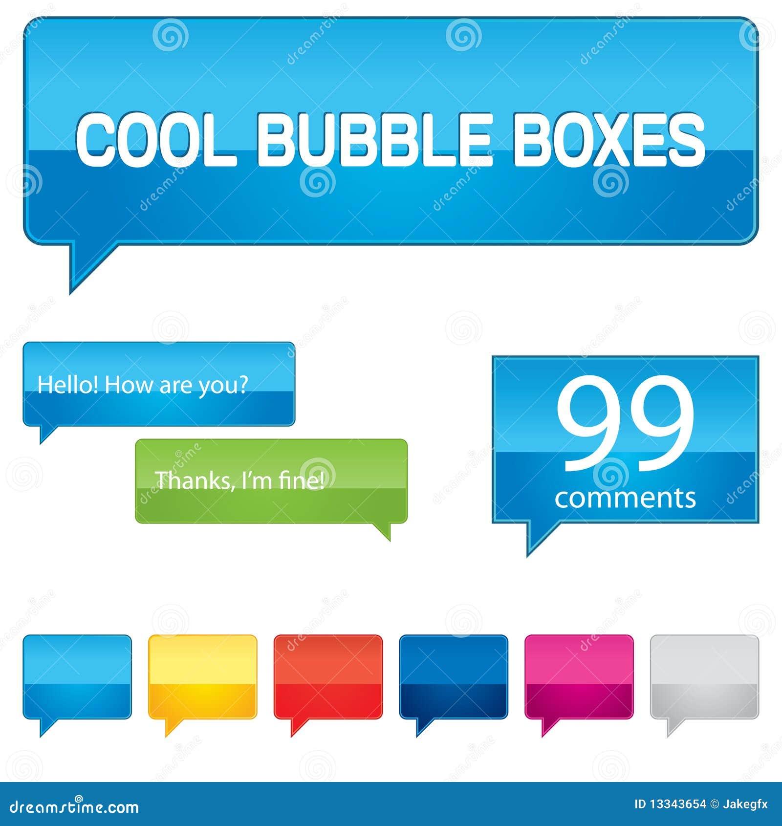 пузырь коробок цветастый