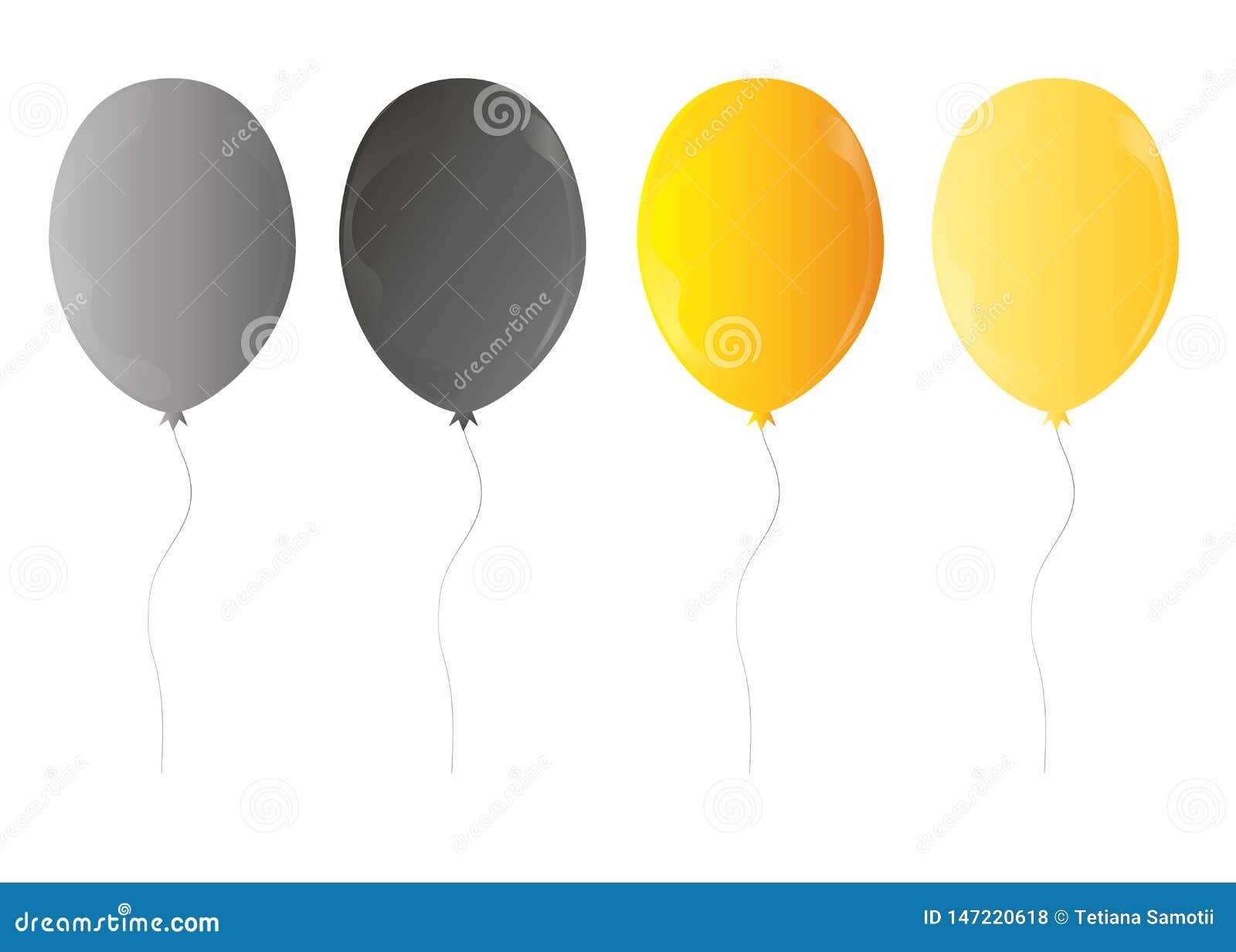 Пук Web3d реалистический красочный воздушных шаров дня рождения летая для партии и торжеств с космосом для изолированного сообщен