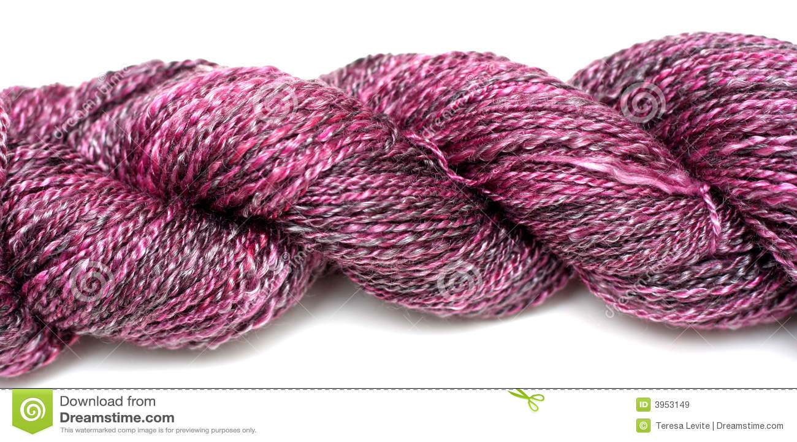 пурпуровая пряжа