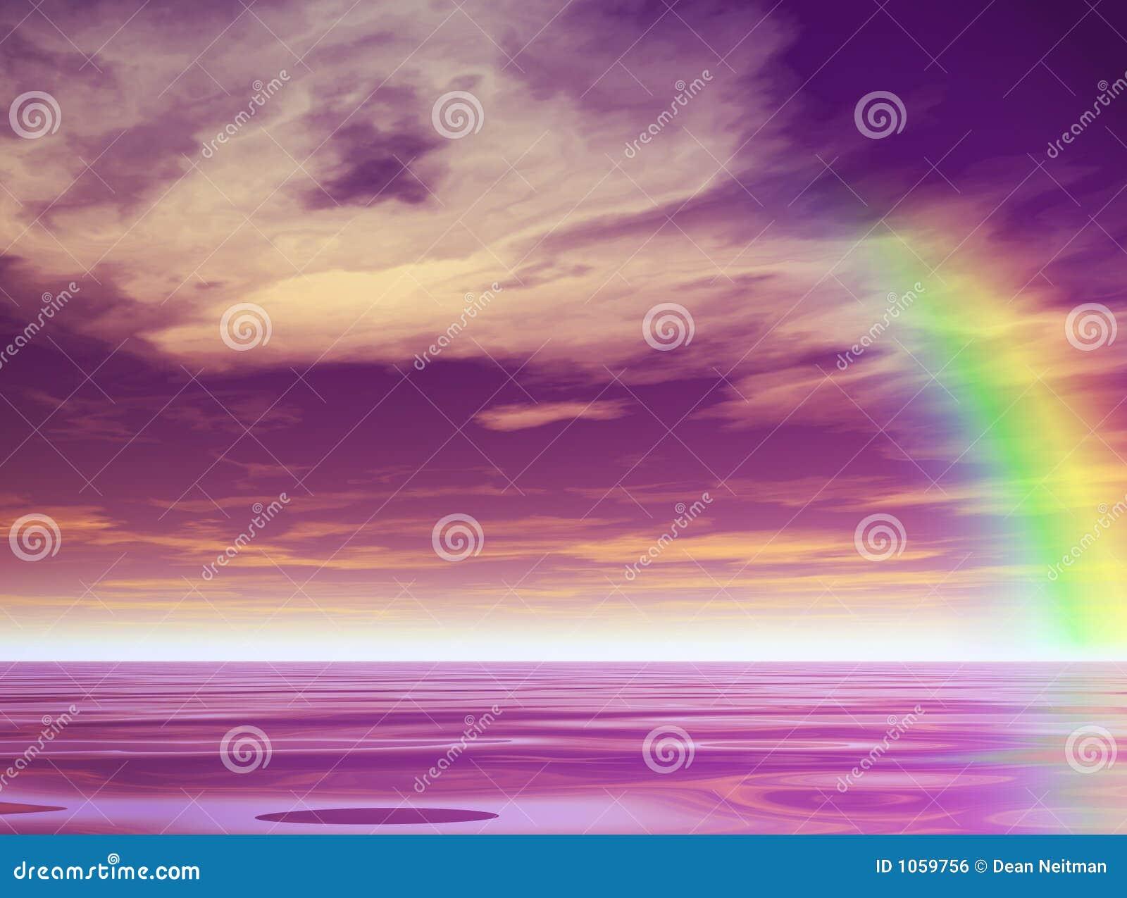 пурпуровая радуга