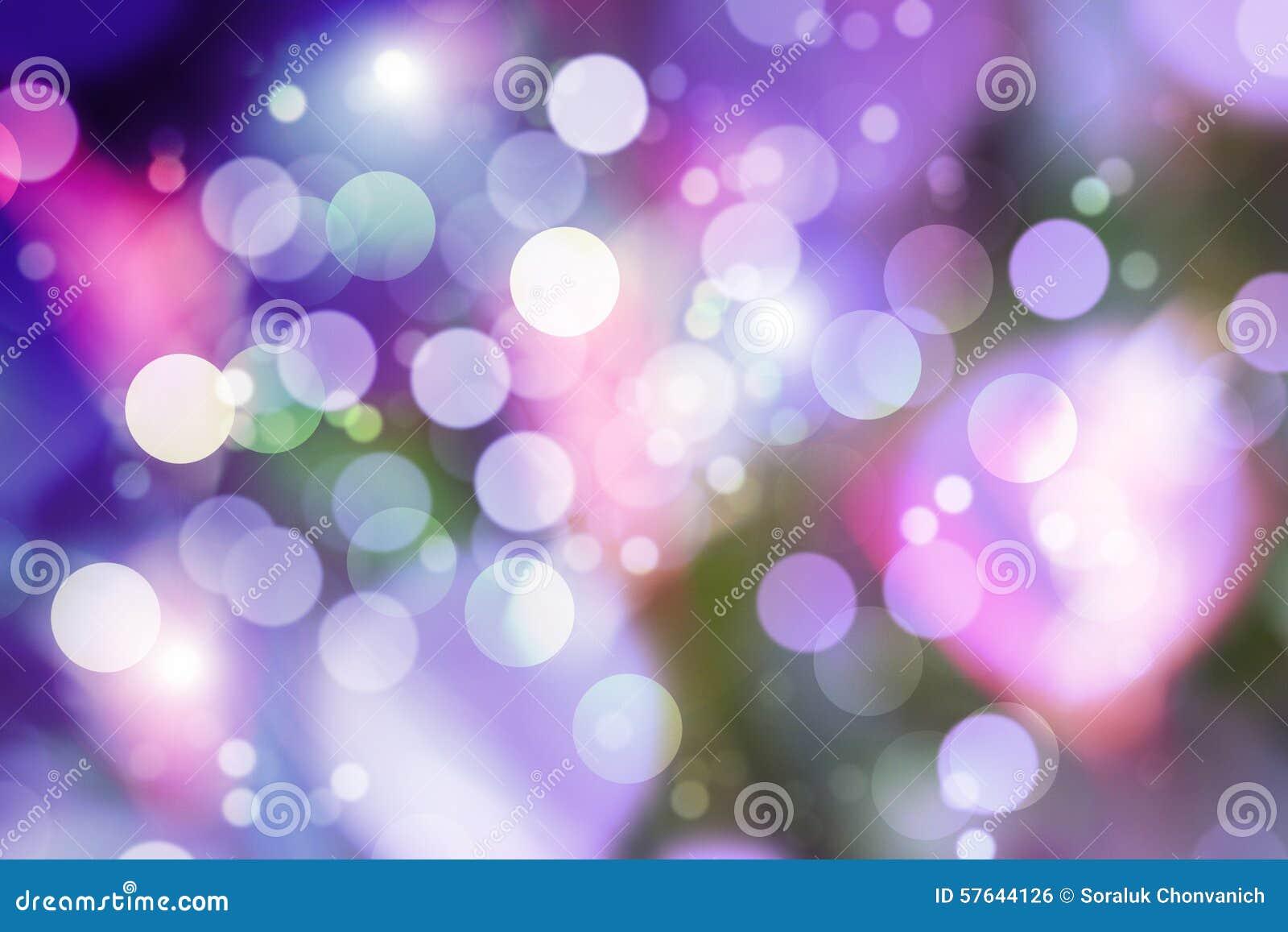 Пурпуровое bokeh