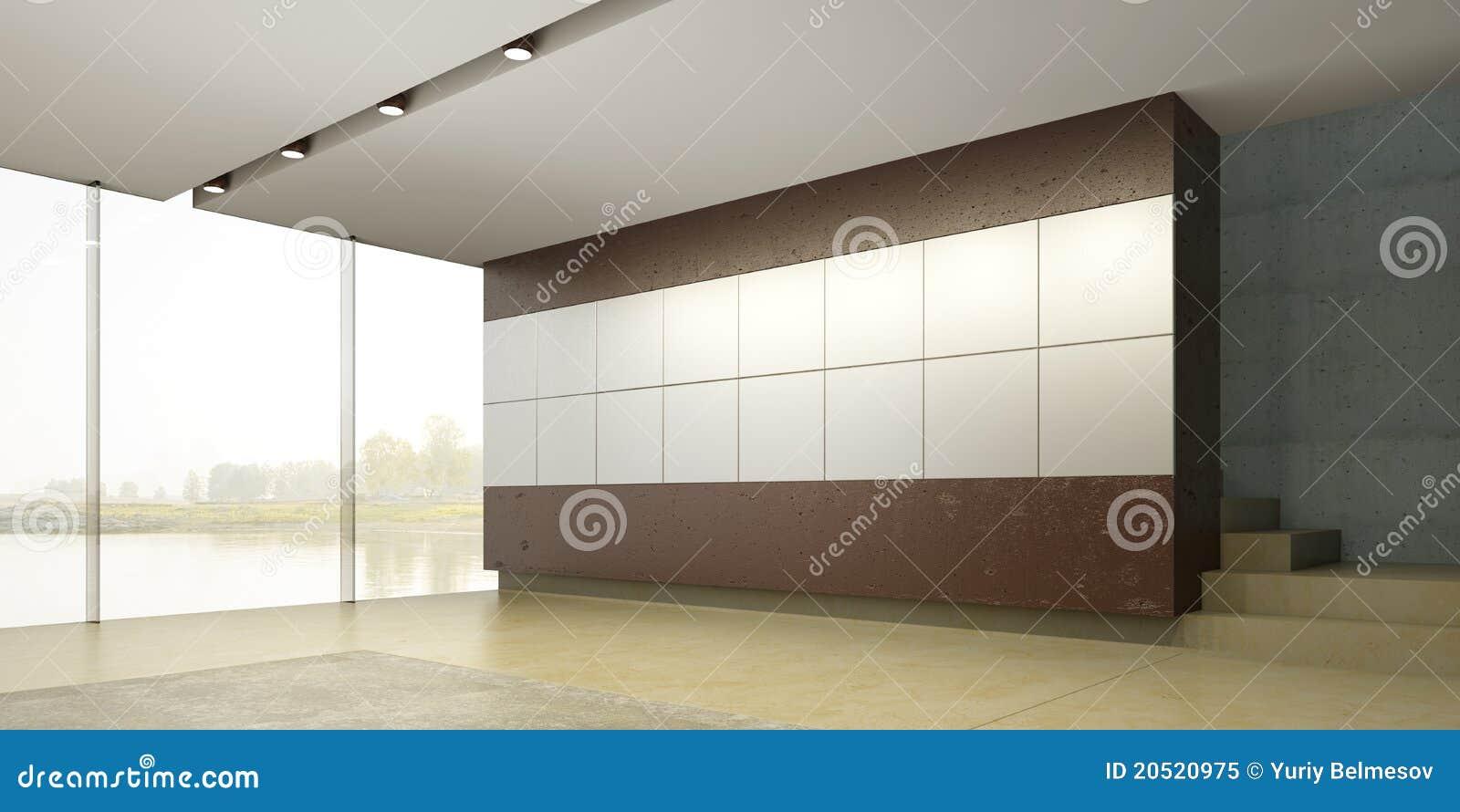 пустая нутряная комната