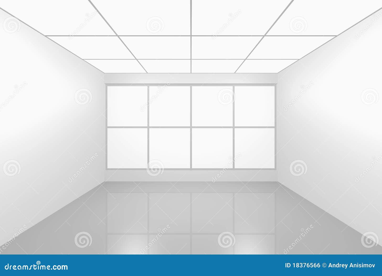 пустая нутряная новая комната