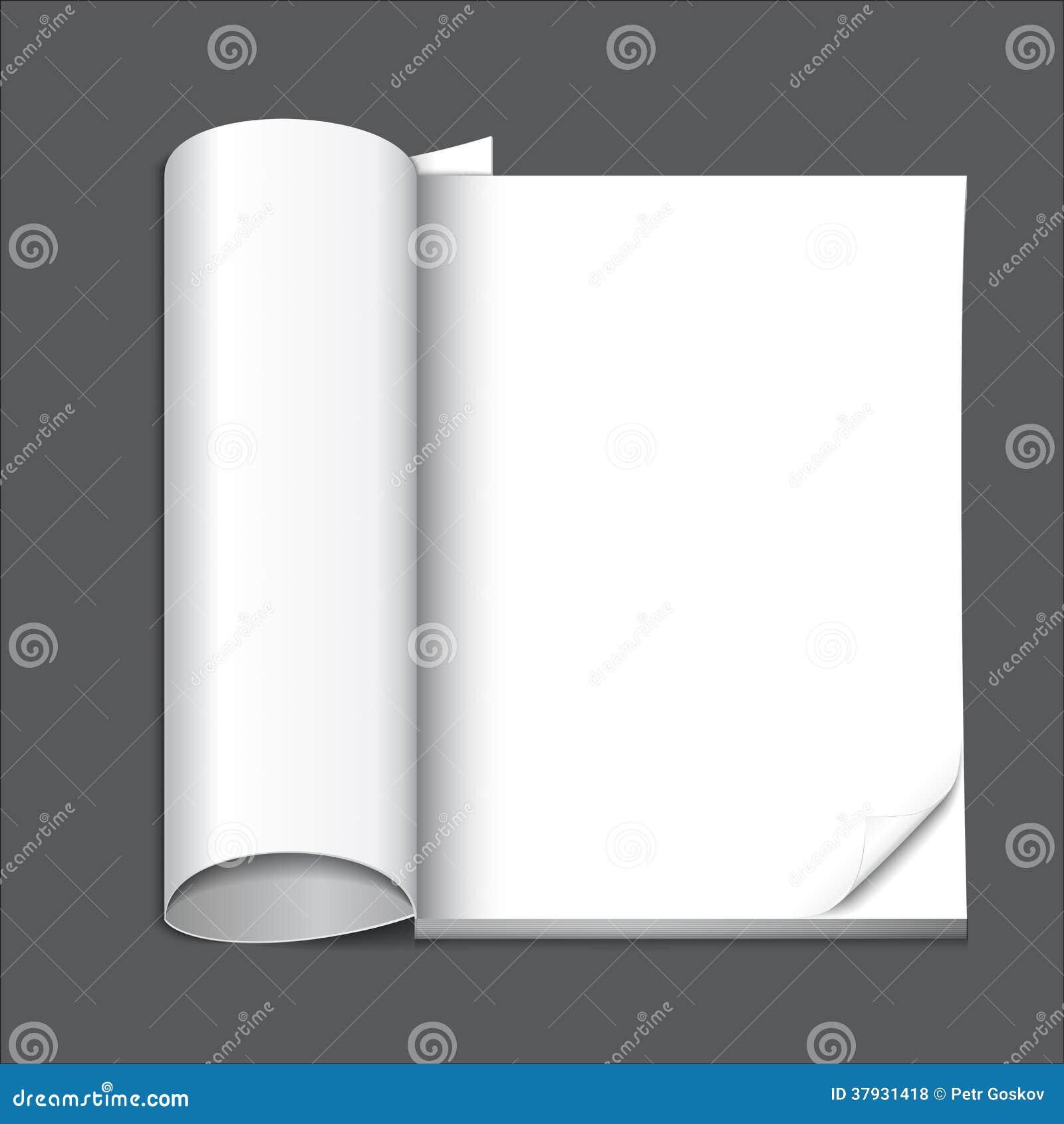 Пустая страница кассеты