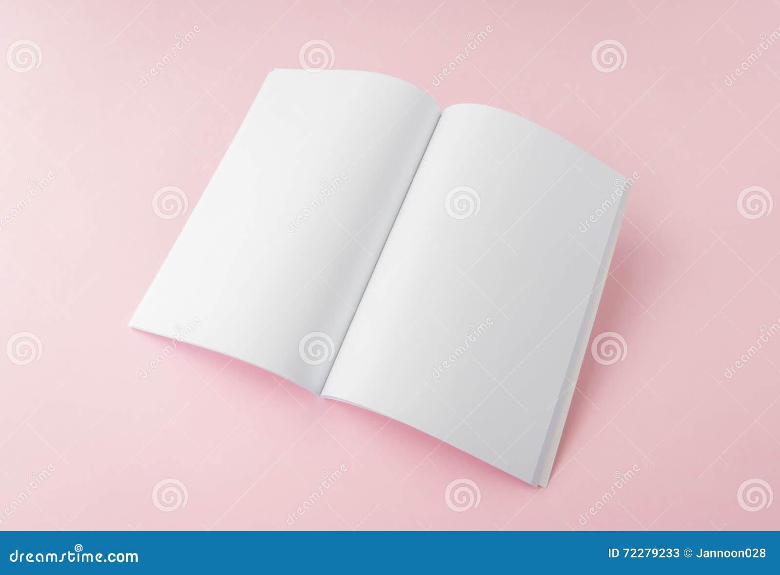 Download Пустой каталог, брошюра, кассеты, насмешка книги вверх Стоковое Изображение - изображение насчитывающей крышка, архив: 72279233