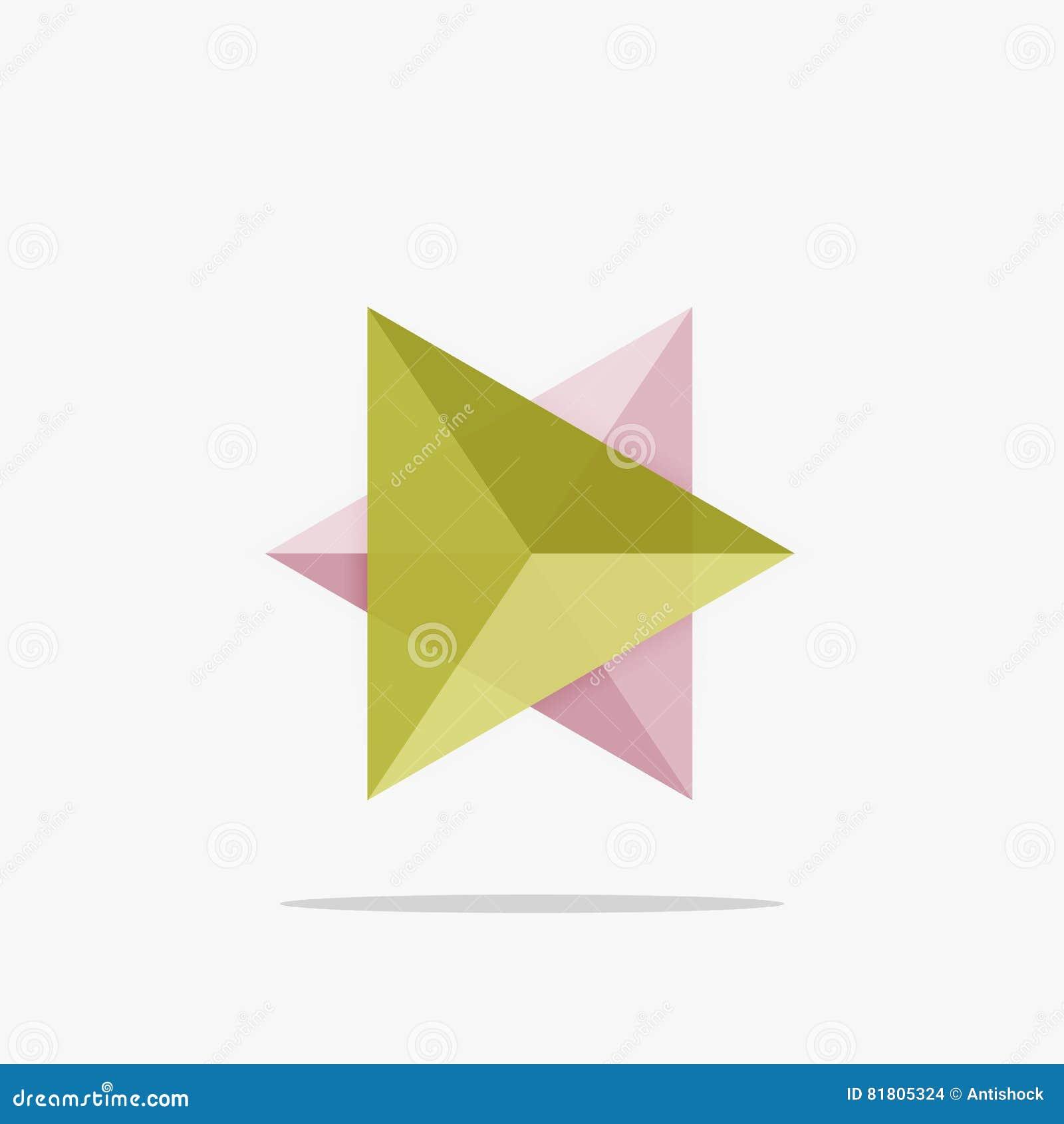Пустой шаблон дела плана треугольника