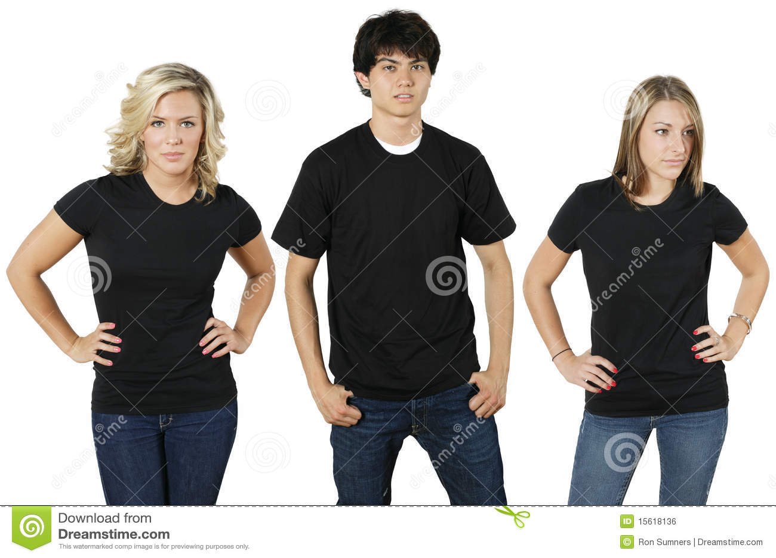 пустые рубашки людей молодые