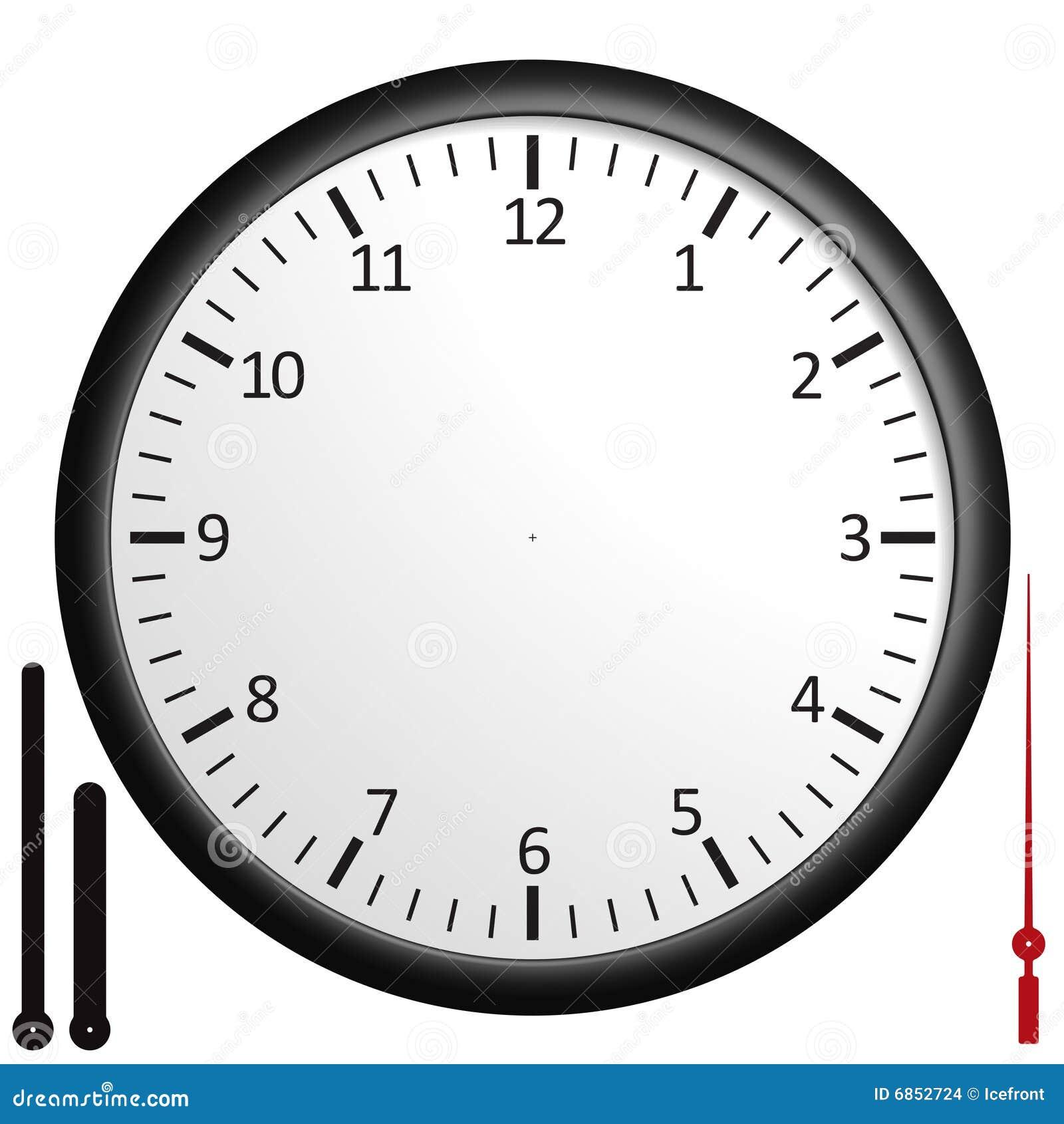 пустые часы ориентированные на заказчика