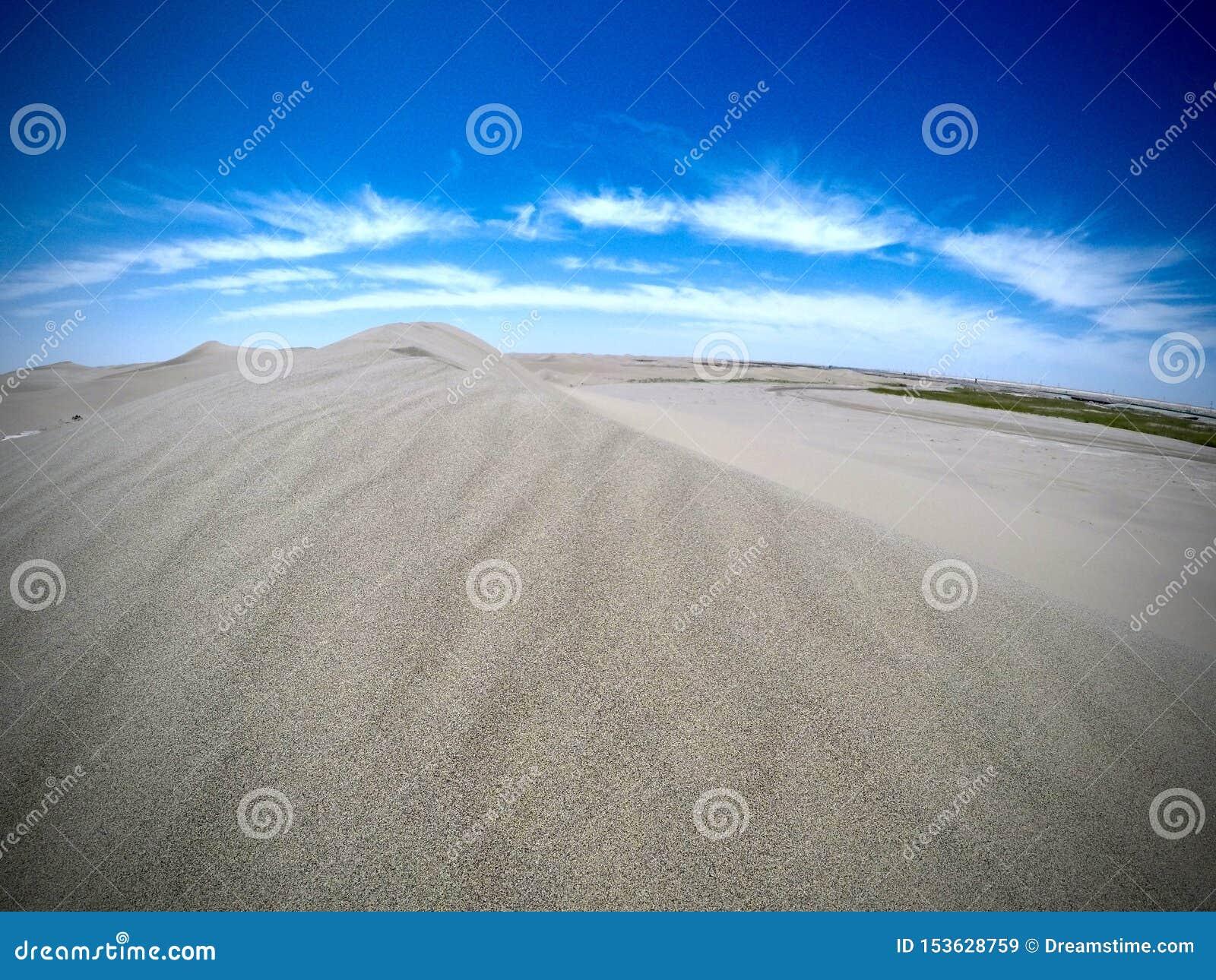 Пустыня во Внутренней Монголии