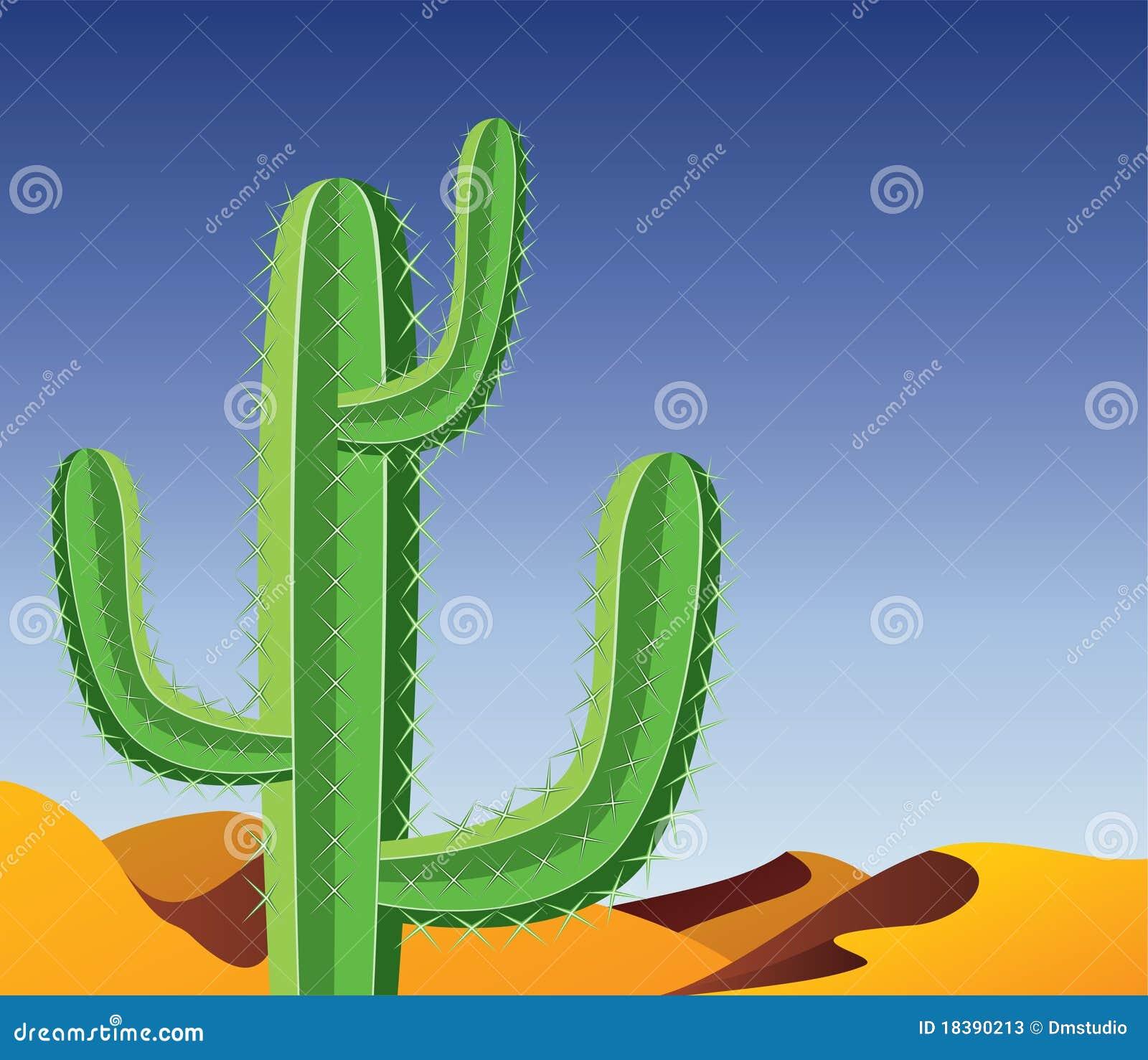 пустыня кактуса
