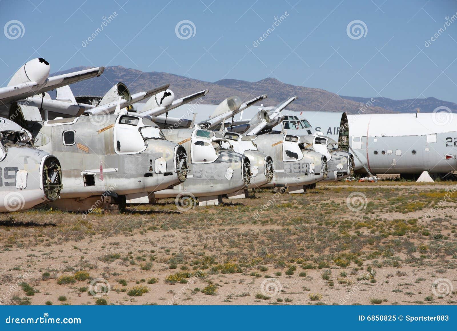 пустыня boneyard