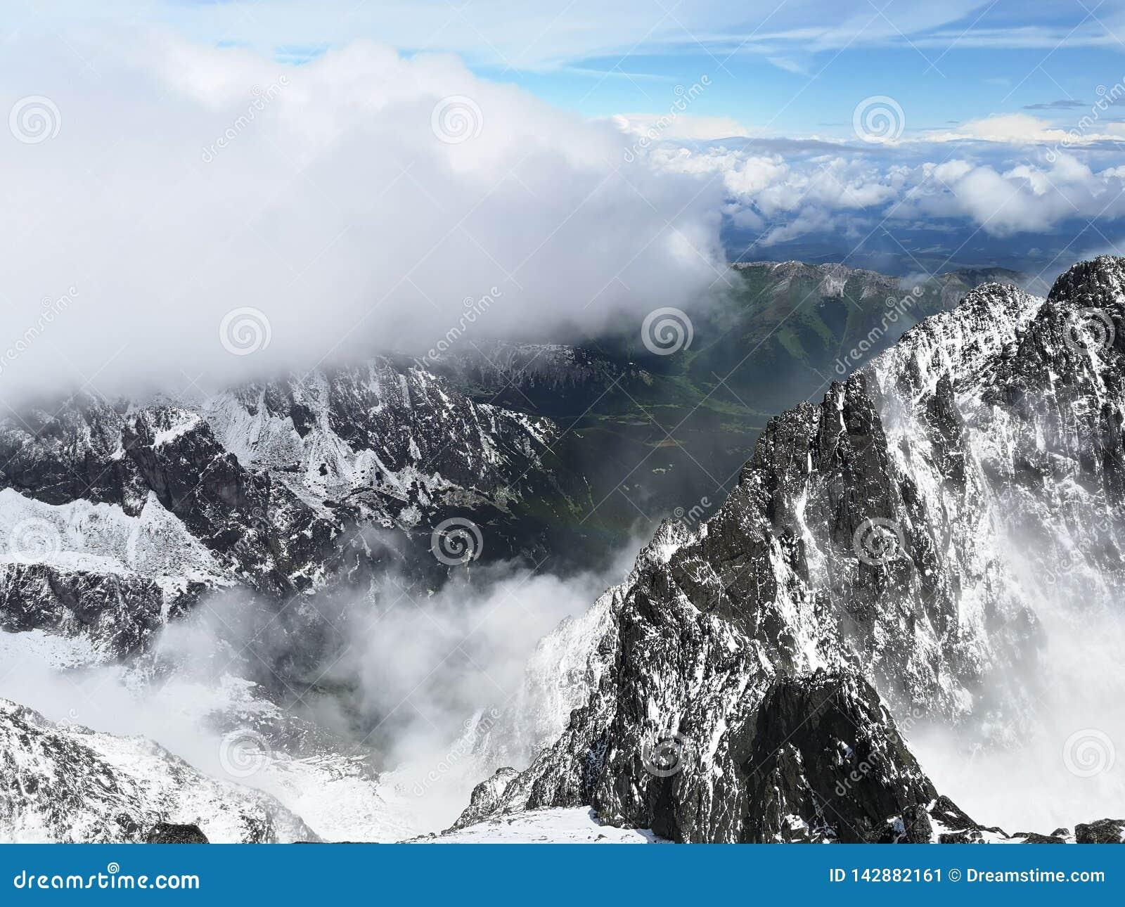 Путешествие высокое Tatras