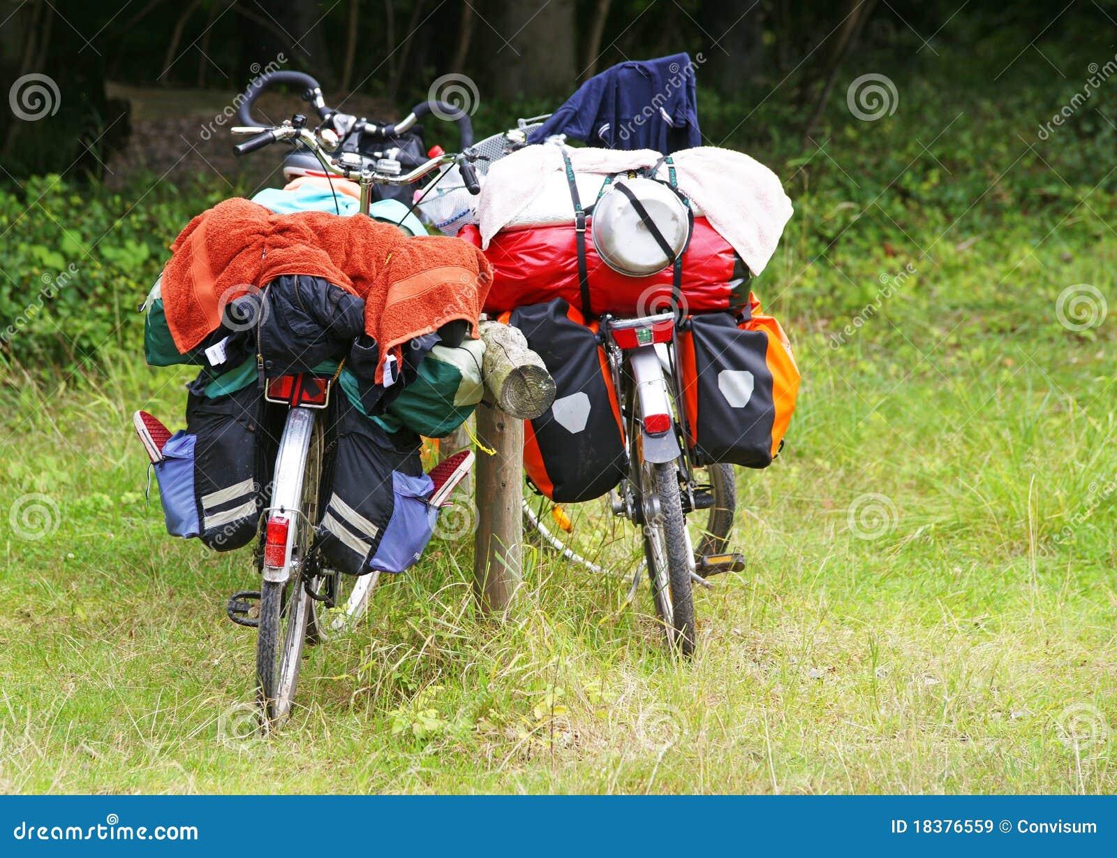 путешествовать bikes багажа