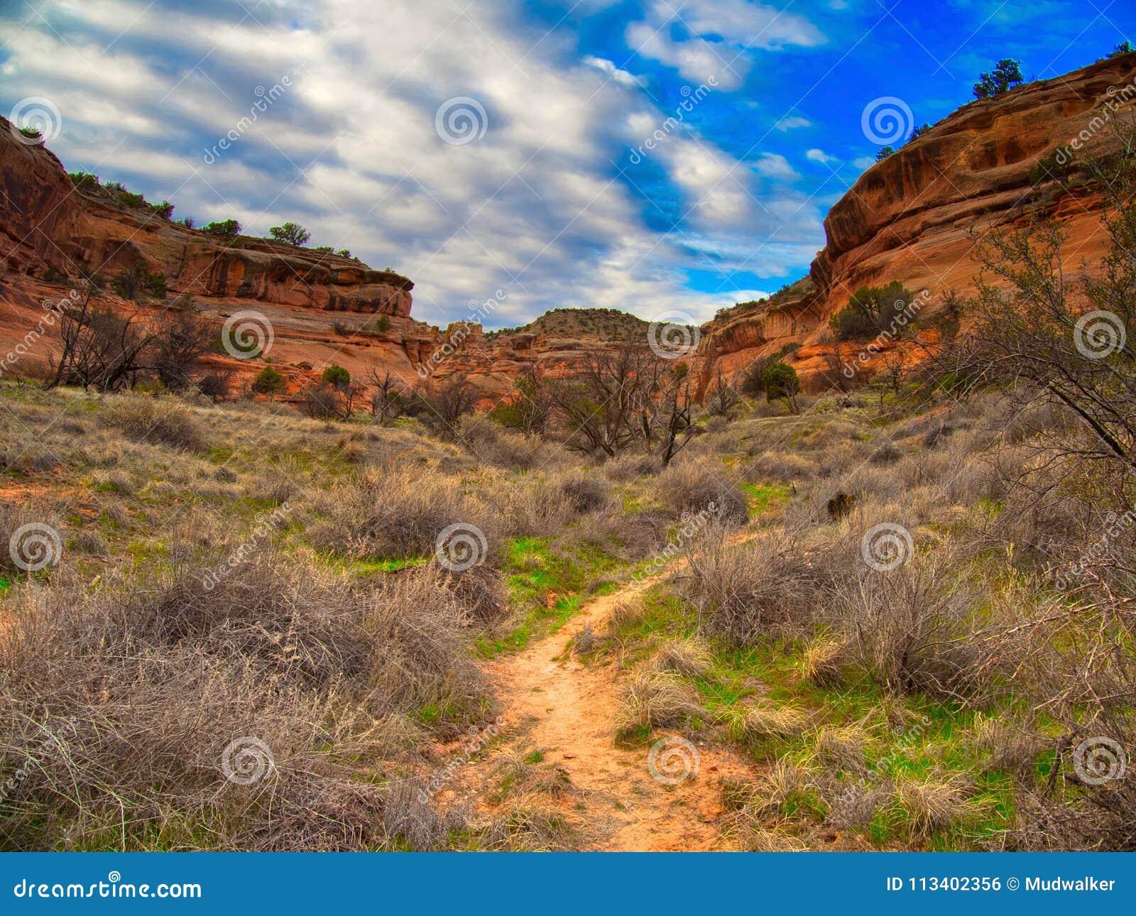 Путь в каньон