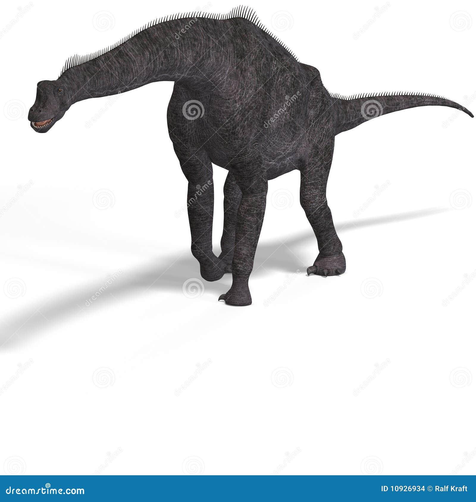 путь гиганта динозавра клиппирования brachiosaurus
