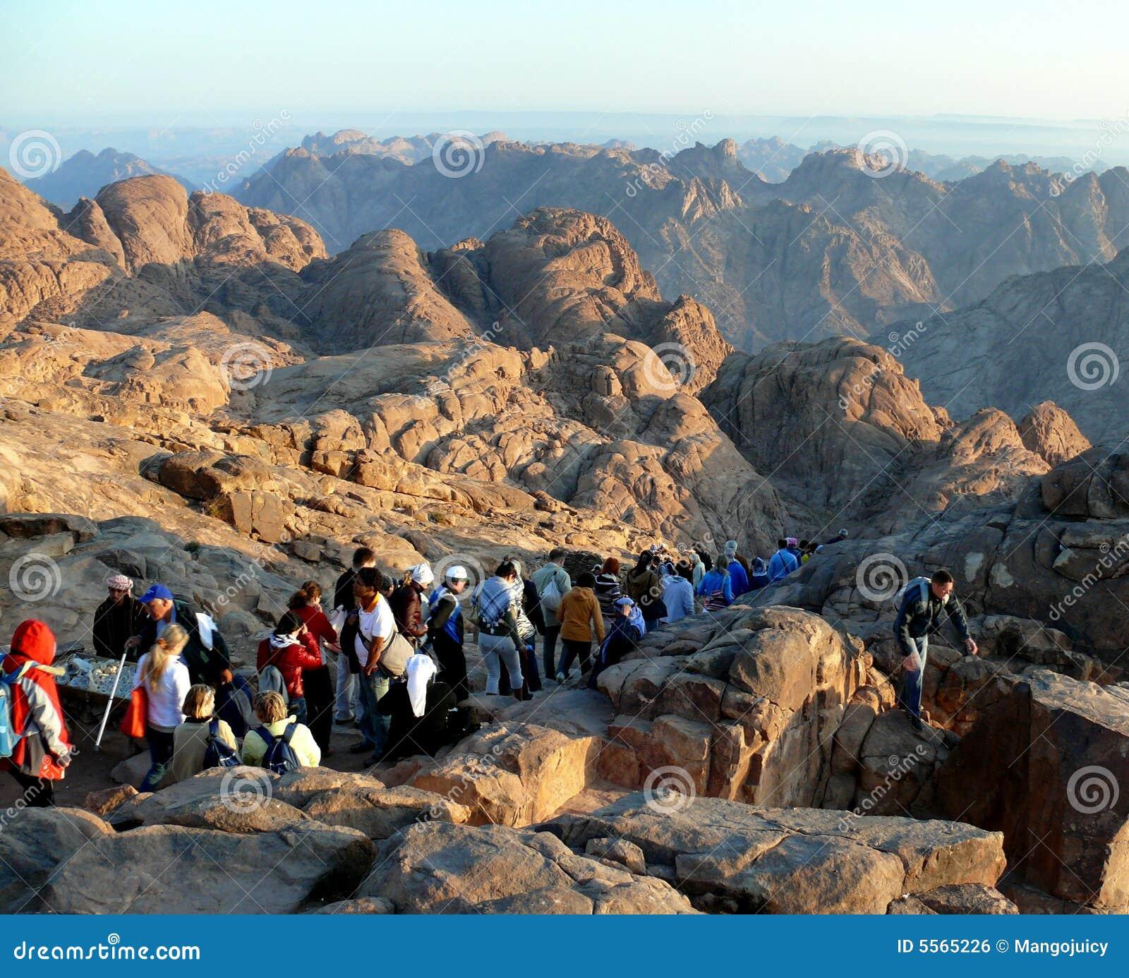 путь горы Синай Египета