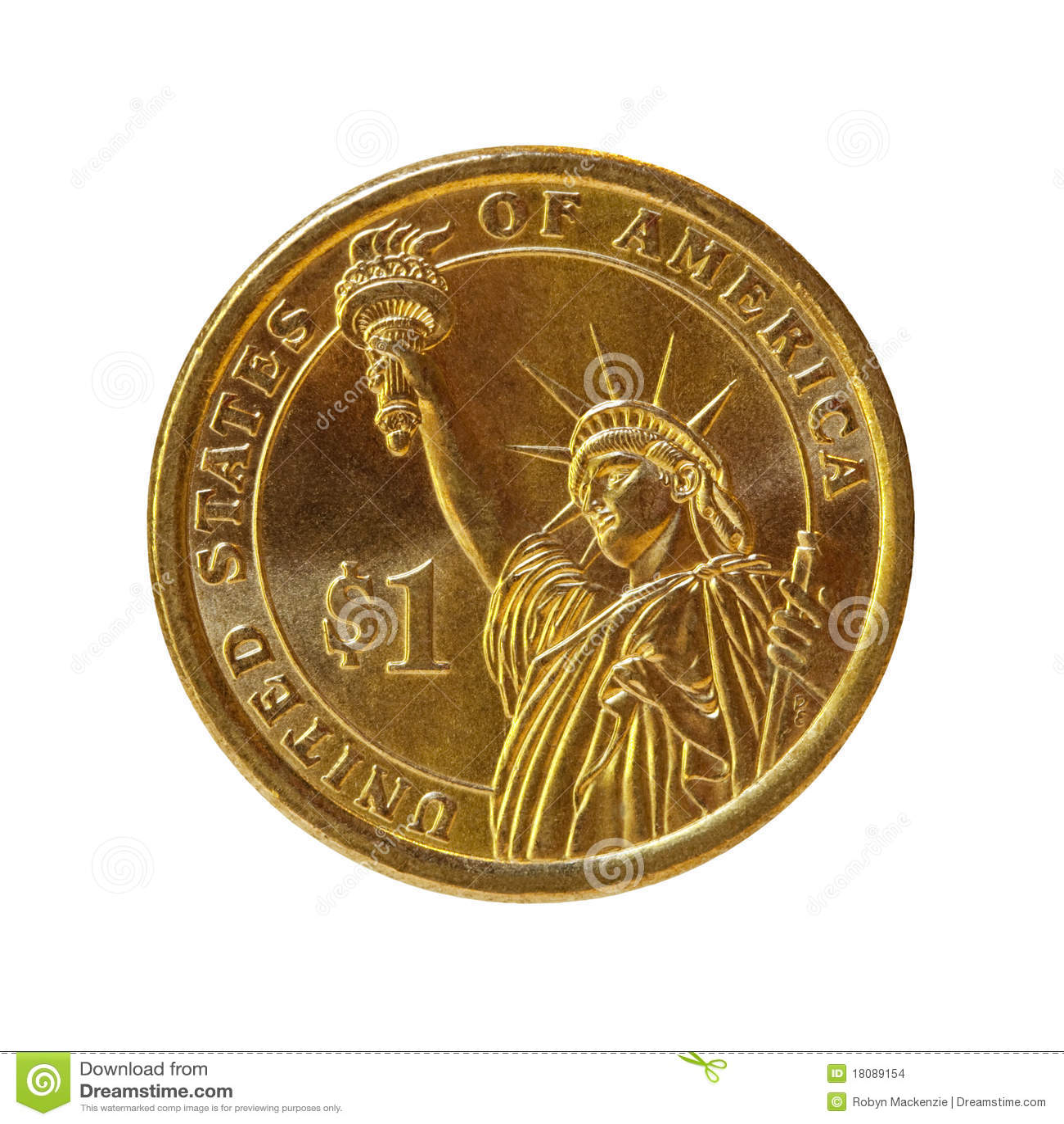 путь доллара монетки