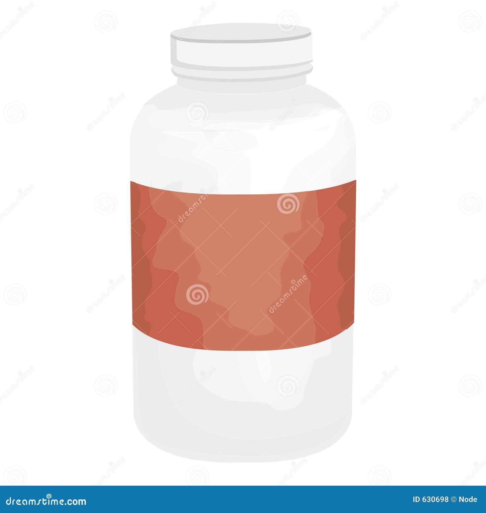 Download путь клиппирования бутылки иллюстрация штока. иллюстрации насчитывающей витамин - 630698