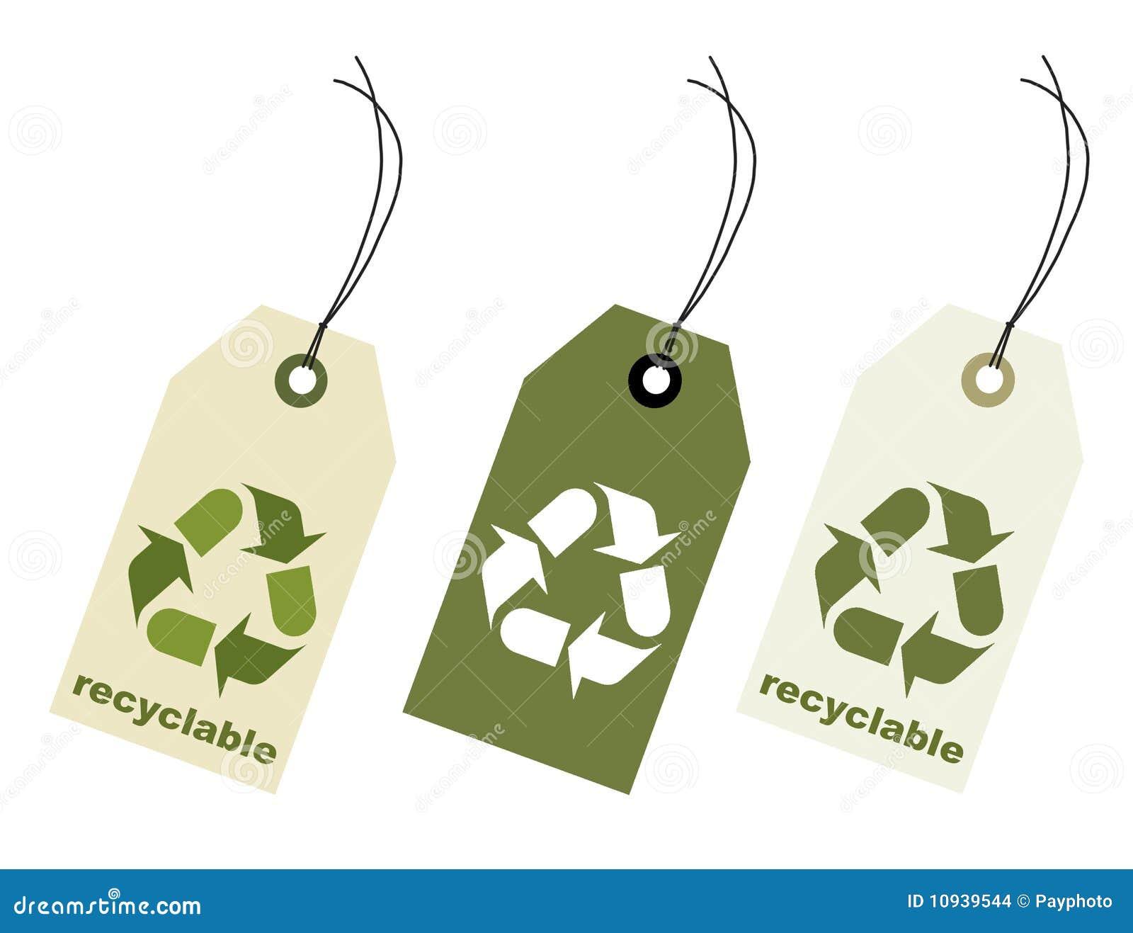 путь клиппирования recyclable пеет бирку