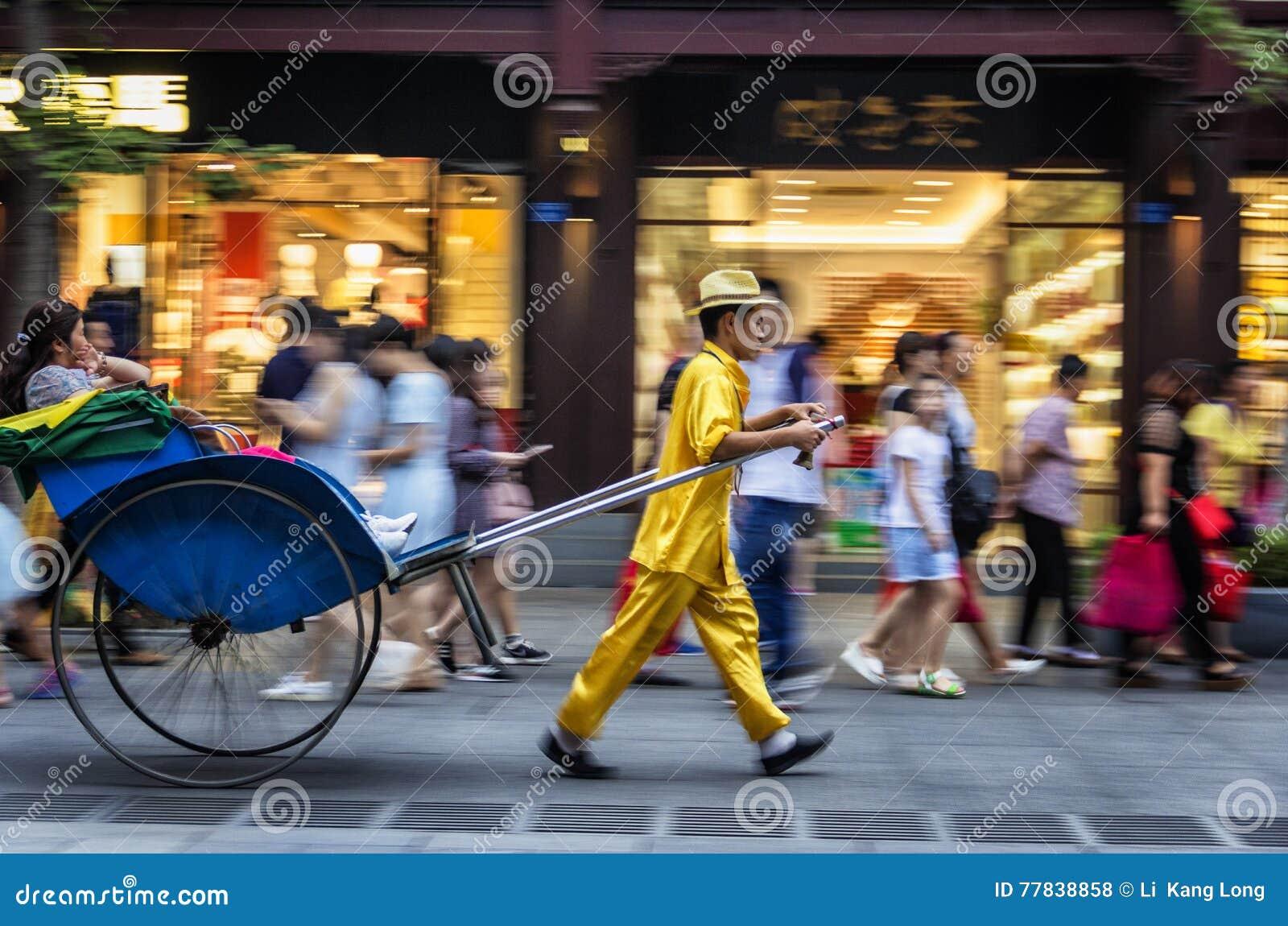 Пулеры рикши