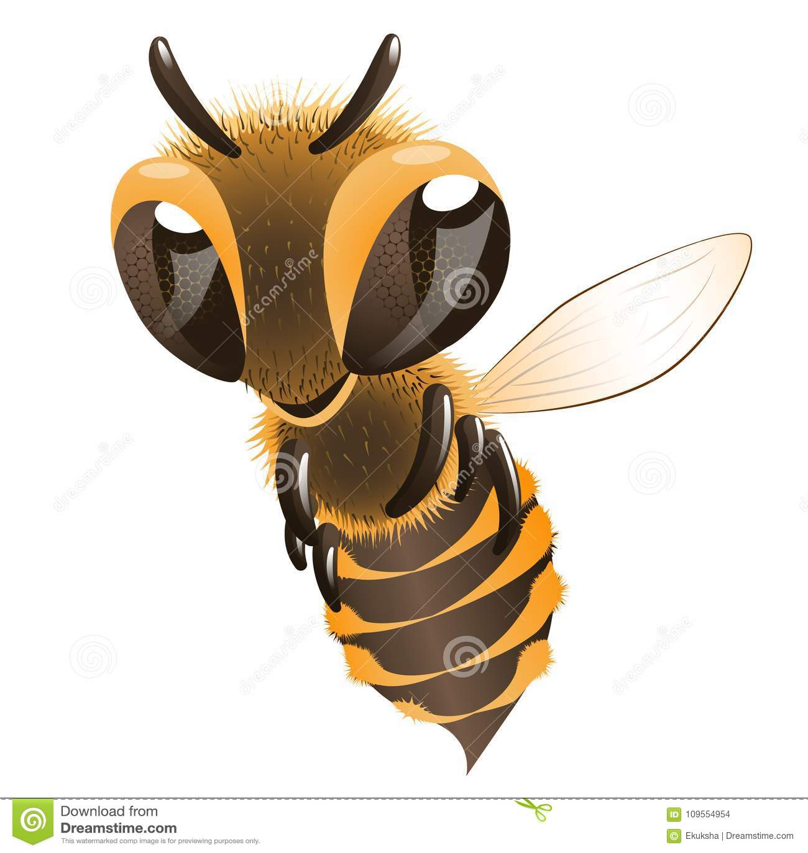 пчела счастливая