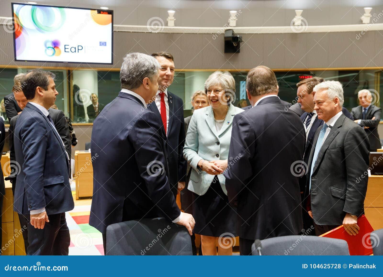 Пятый восточный саммит партнерства в Брюсселе