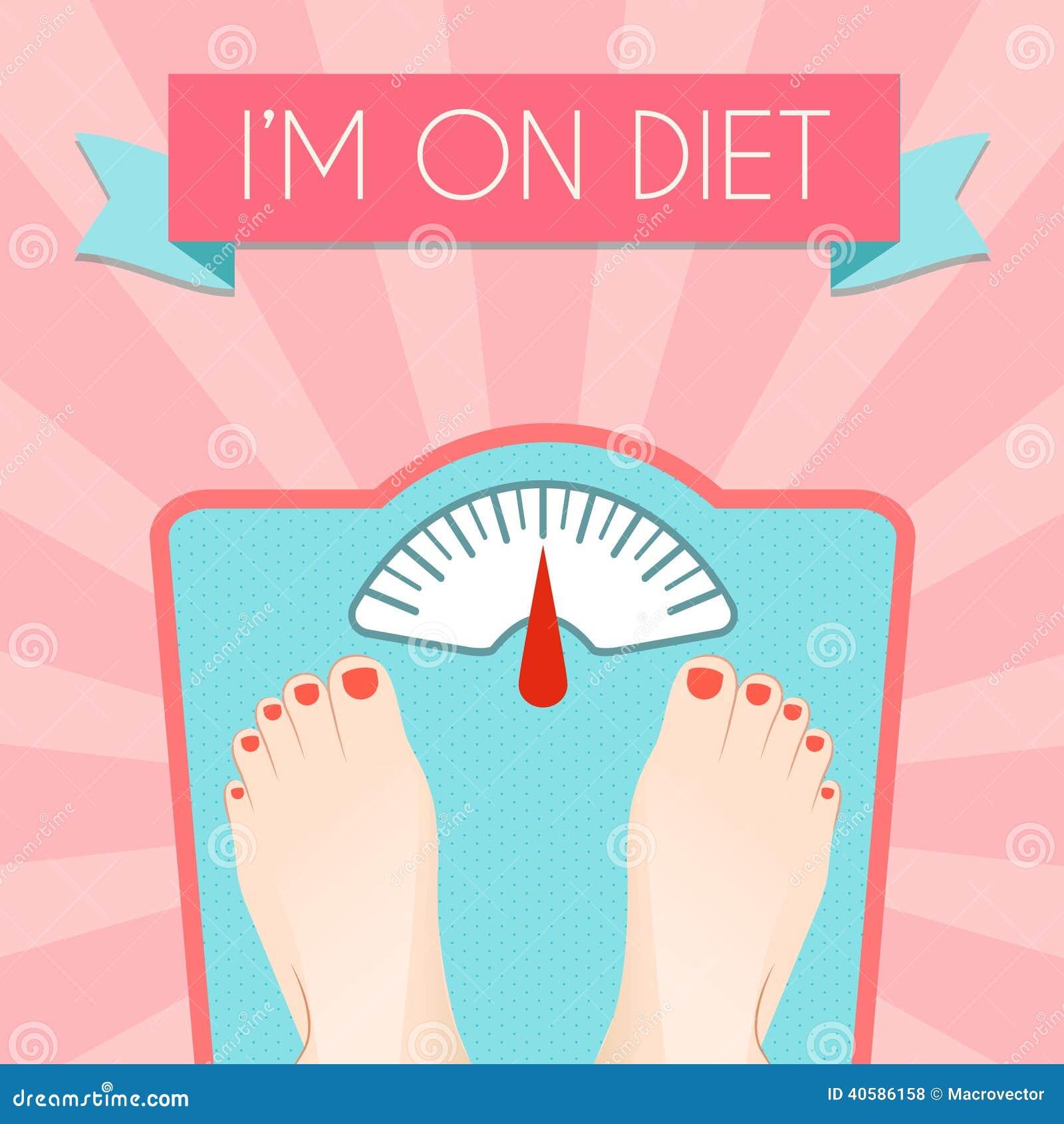 Плакат веса здорового питания