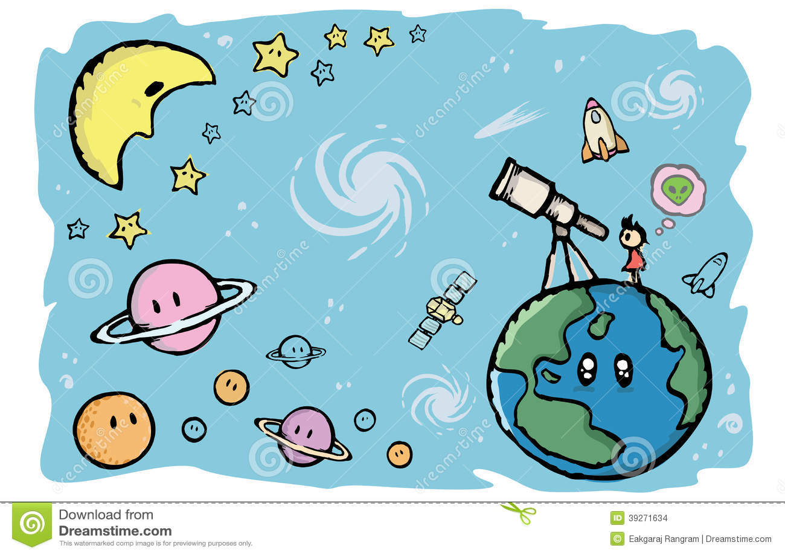 Планета и вселенная