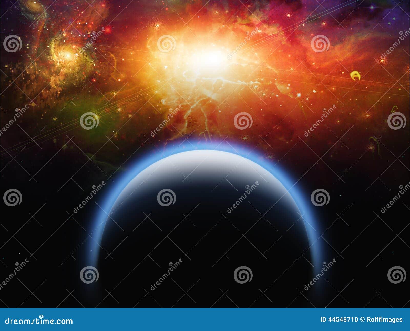 Планета и звезда Scape