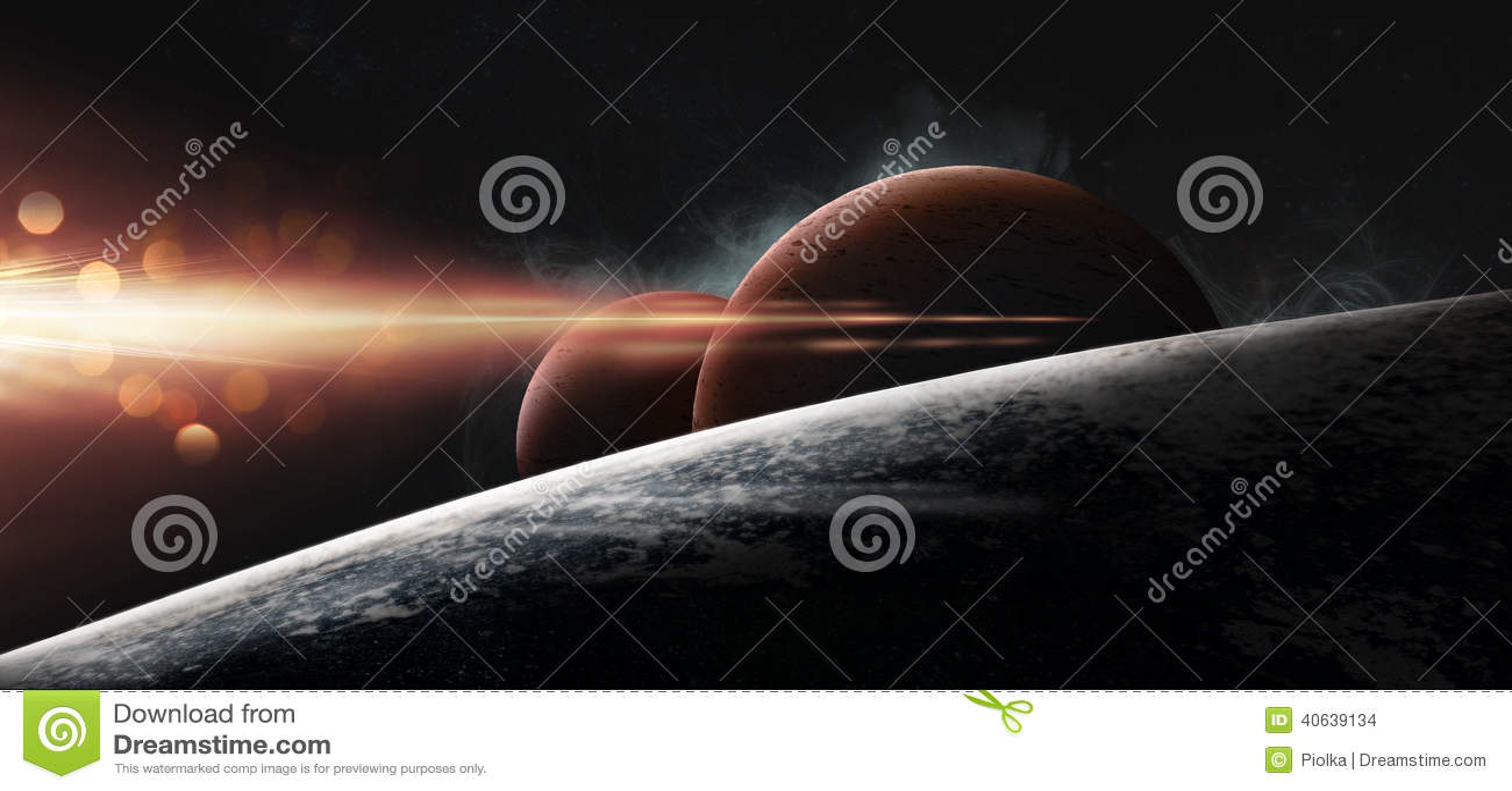 Планеты на звёздной предпосылке