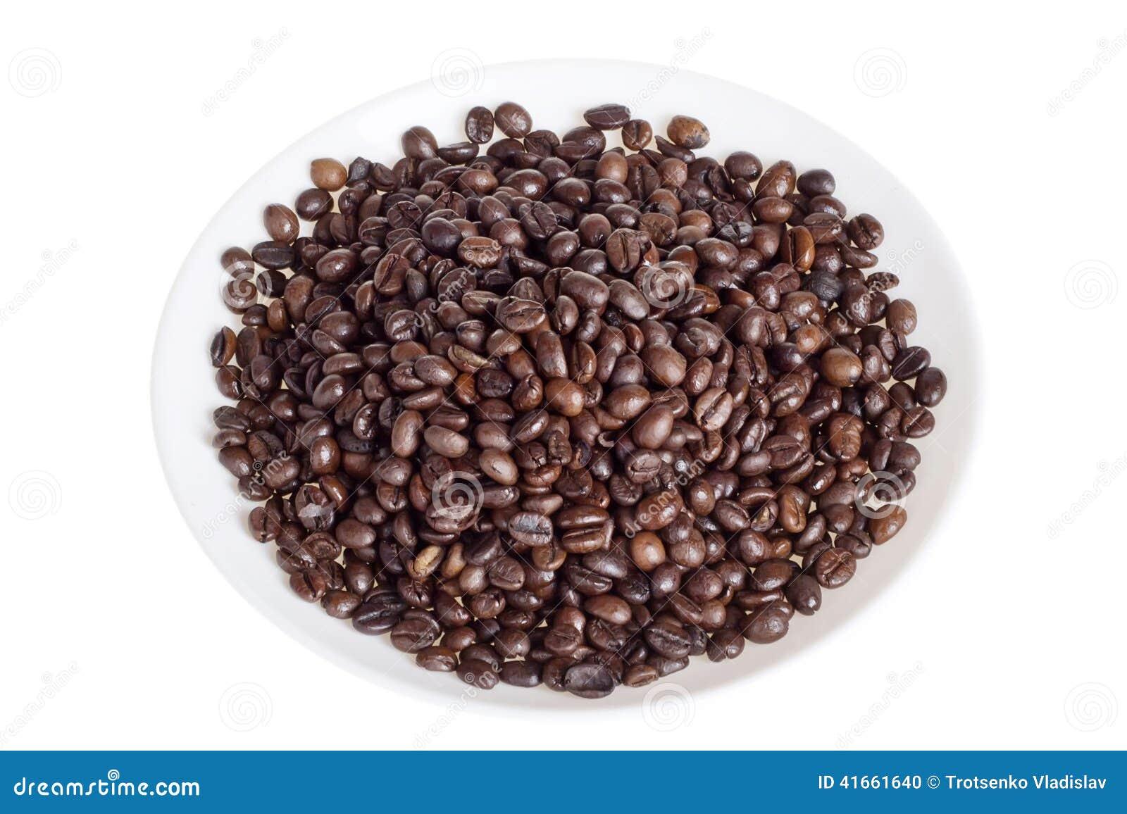 Плита с кофейными зернами