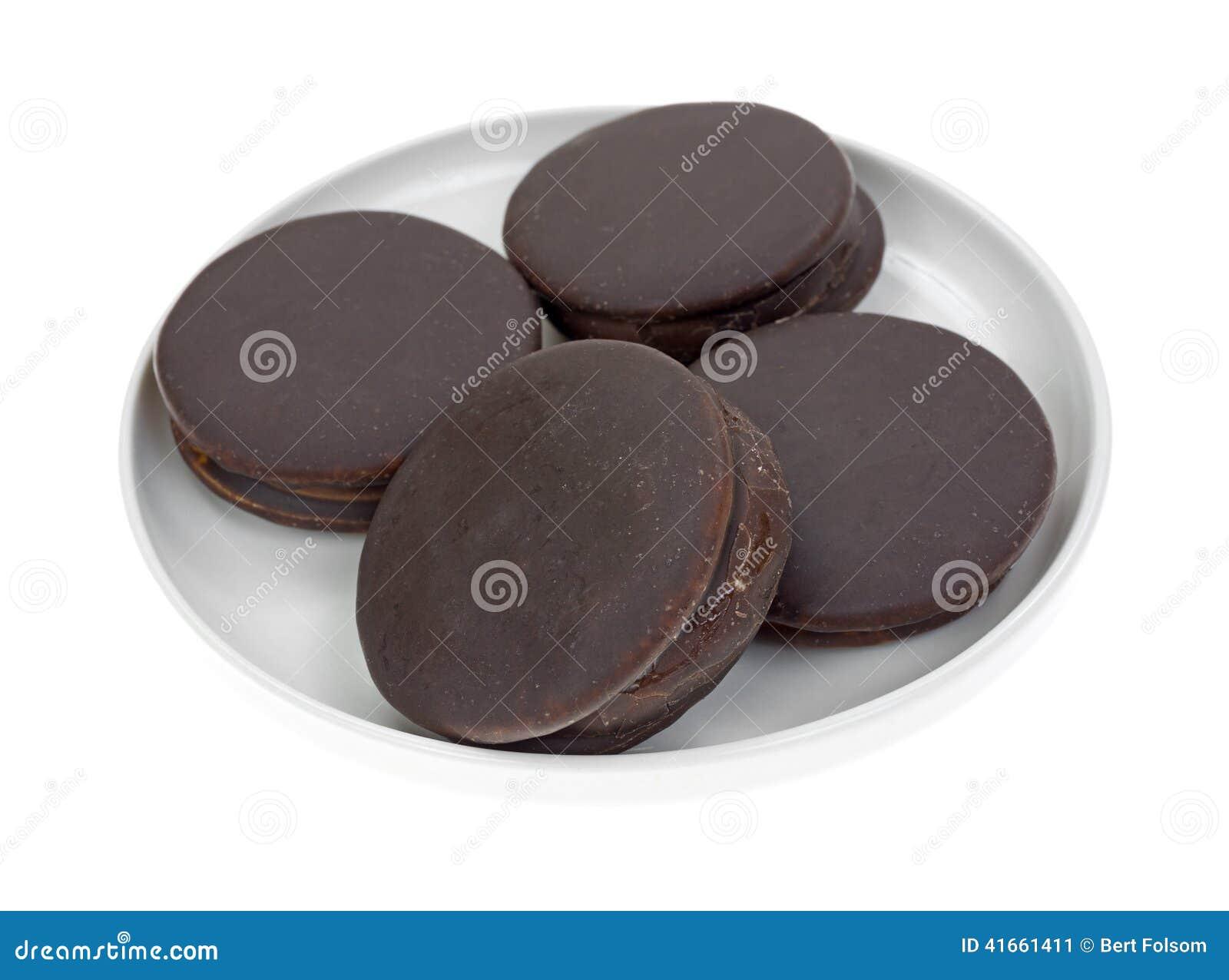 Плита 4 тортов закуски шоколада