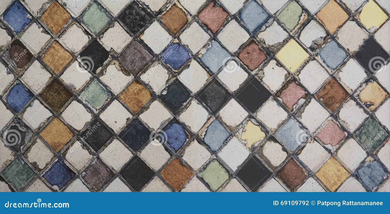 Плитка мозаики акварели