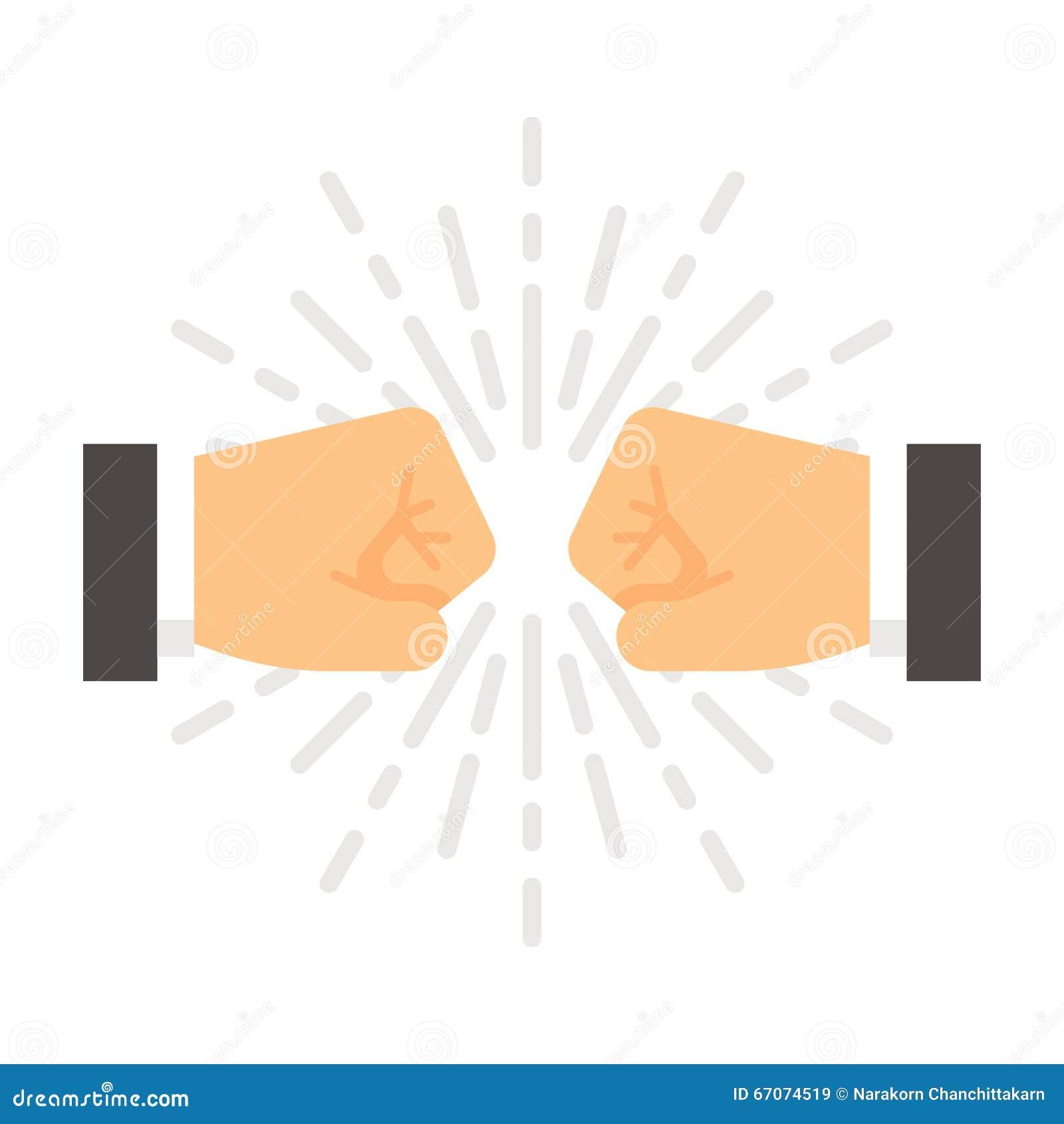 Плоское рему кулака дизайна