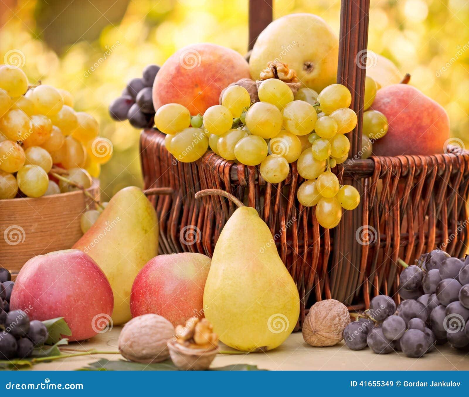 Плодоовощи осени - органические плодоовощи