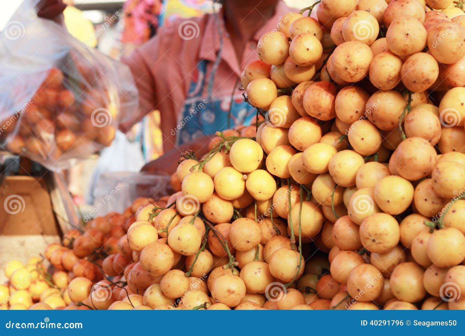 Плодоовощ сливы Мэриан - плодоовощ Азии