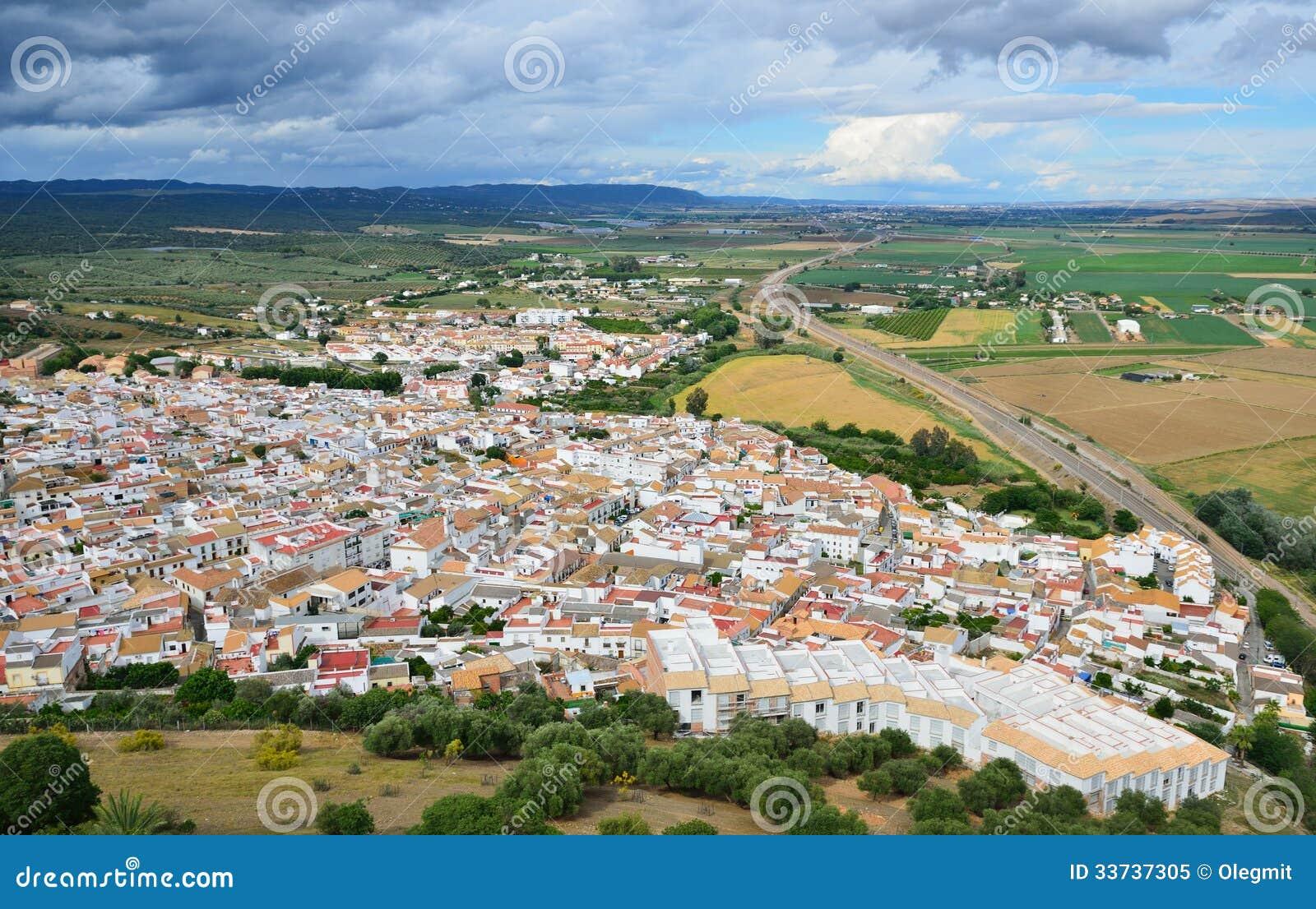 Плодородная долина испанского реки Гвадалквивира