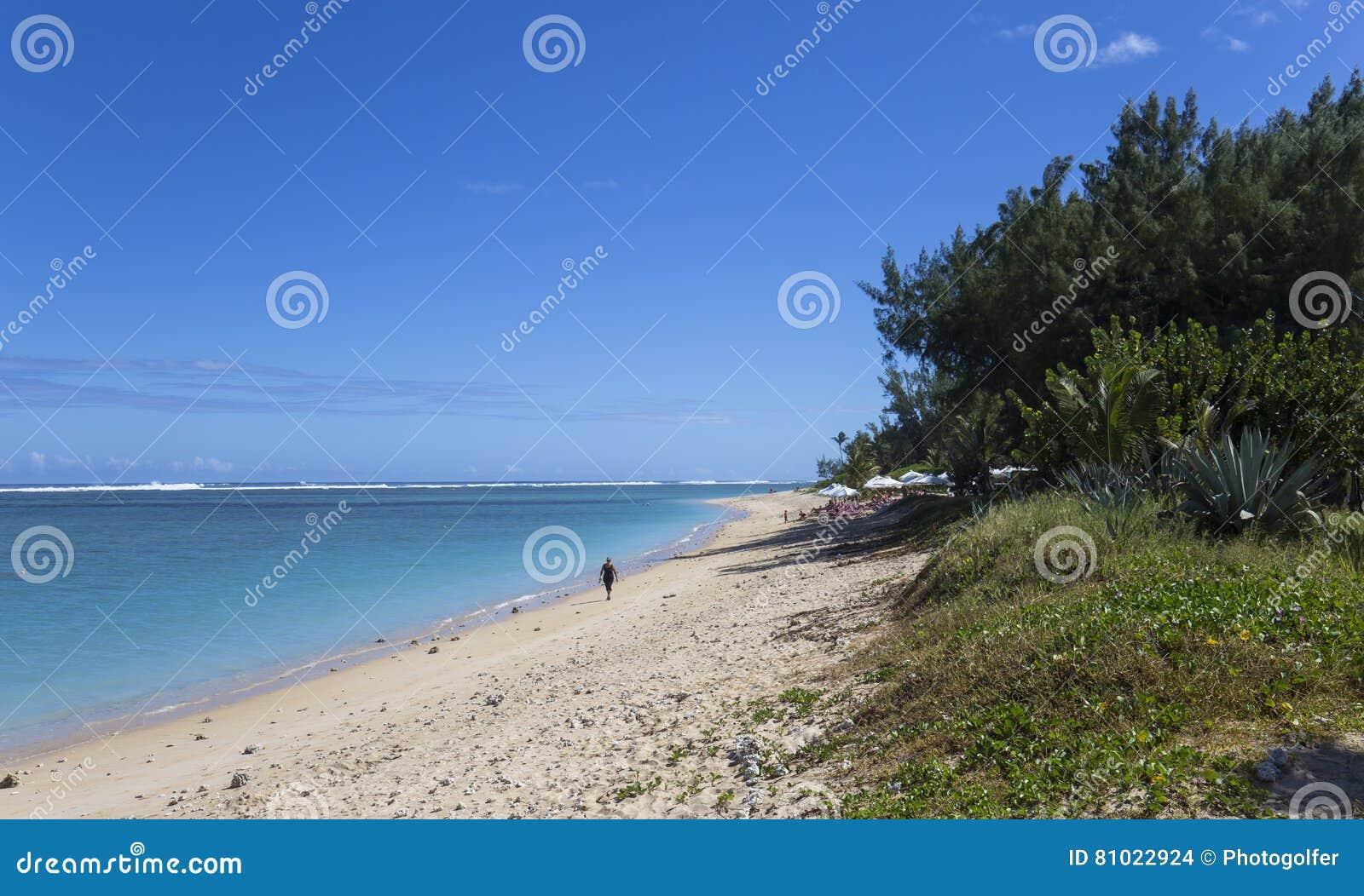 Пляж Ла соляной, Ла Остров Реюньон, Франция