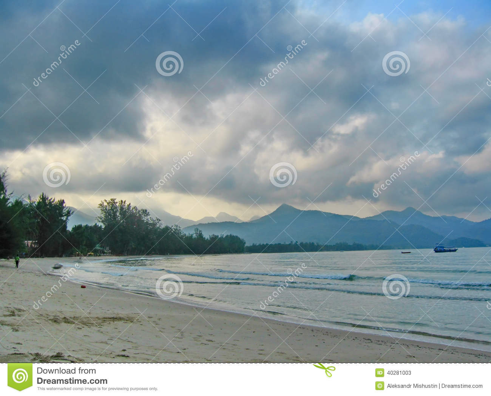 Пляж океана