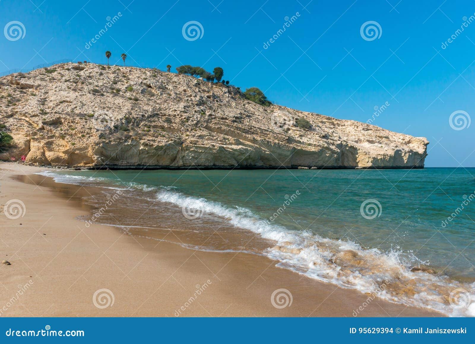 пляж Оман