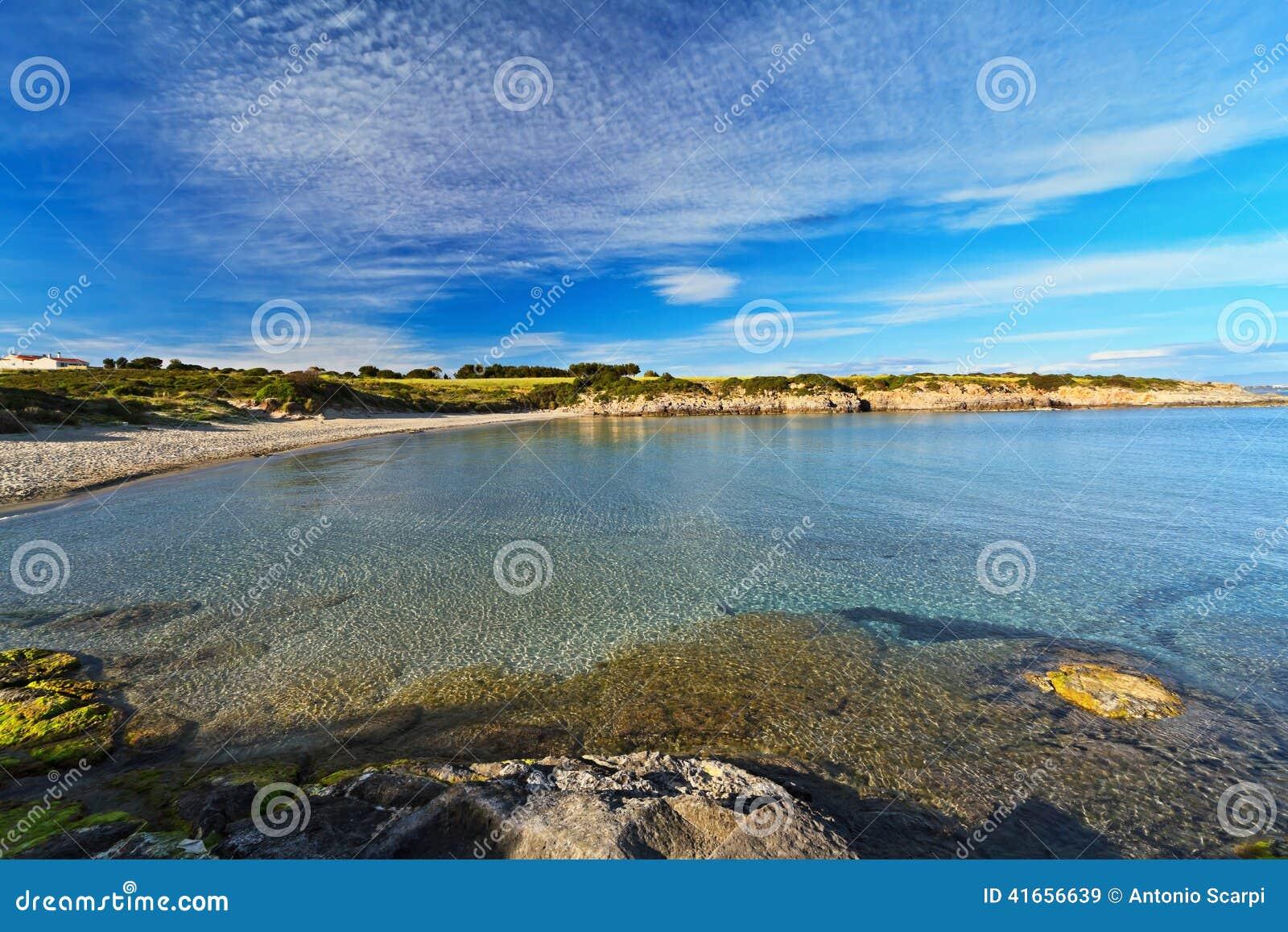 Пляж Bobba Ла - Carloforte