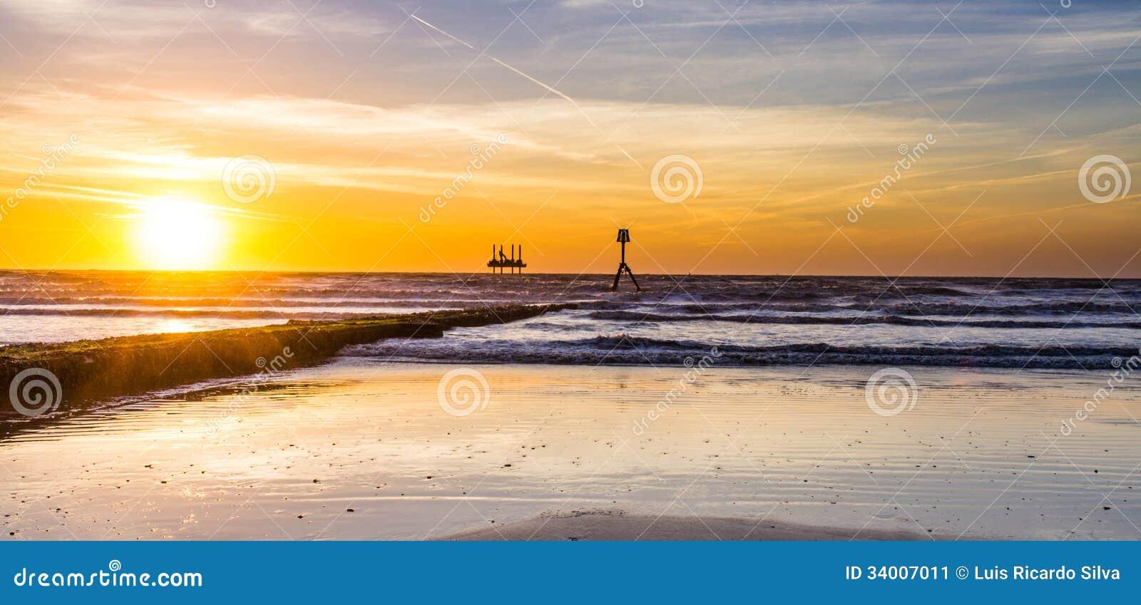Пляж Bridlington южный