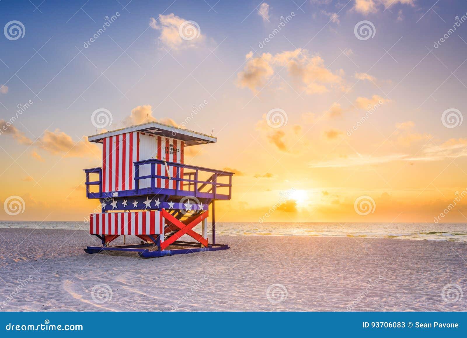 пляж florida miami США