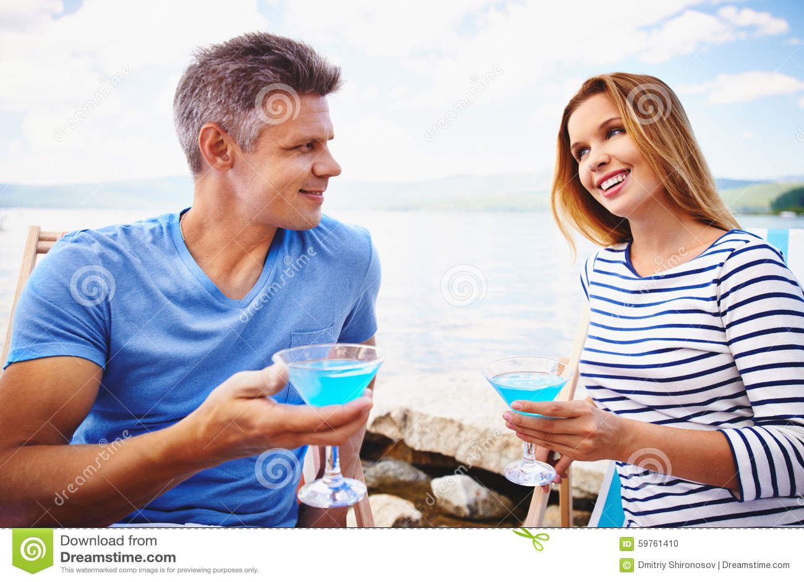 пляж martini